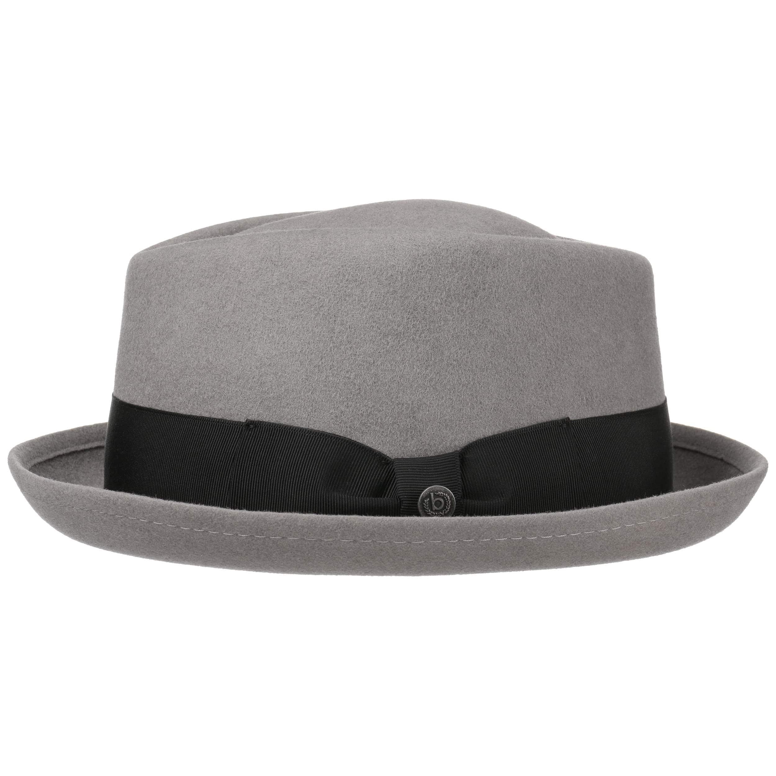 b2ec6827b6f ... Reighsbury Porkpie Hat by bugatti - grey 4