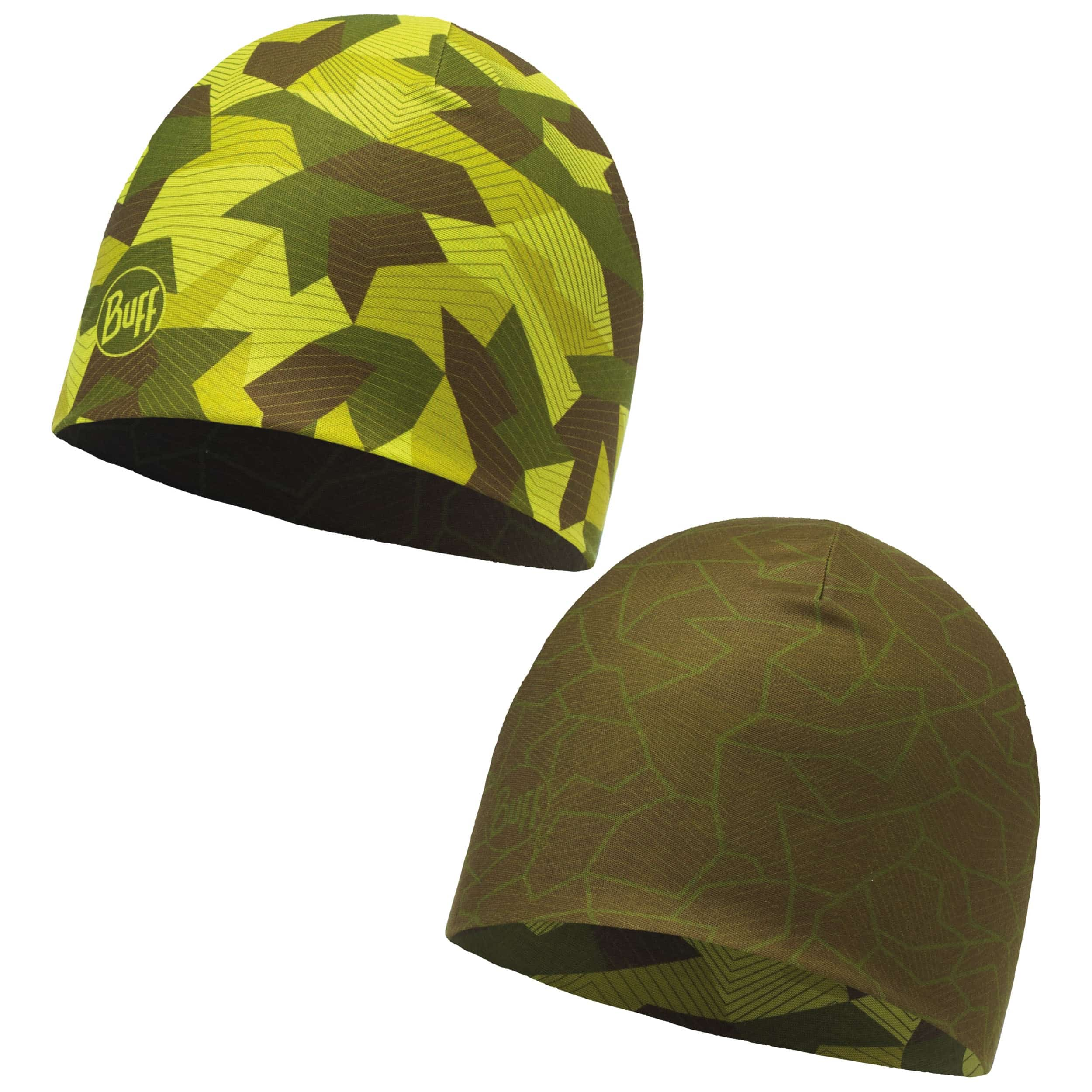 9460550a271 ... Reversible Camo Green Beanie Hat by BUFF - camouflage 3