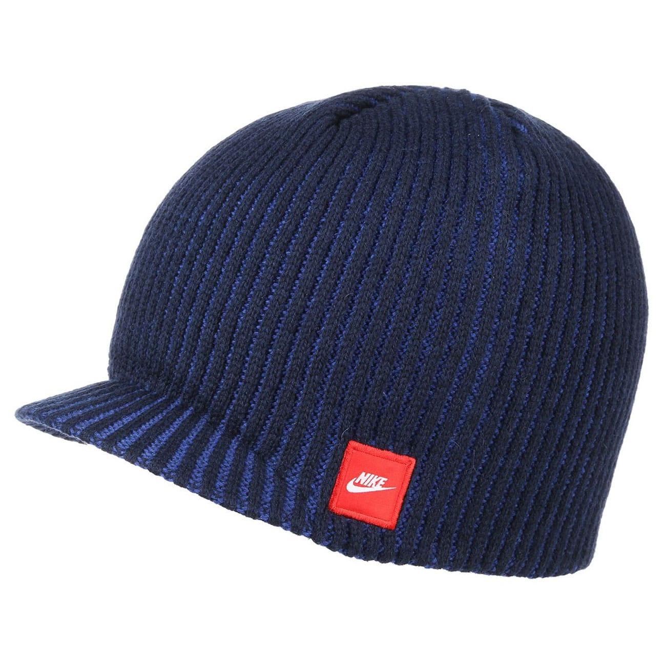 ea9416c7219 ... new arrivals rib peak pull on hat by nike blue 1 4104f 58ae5
