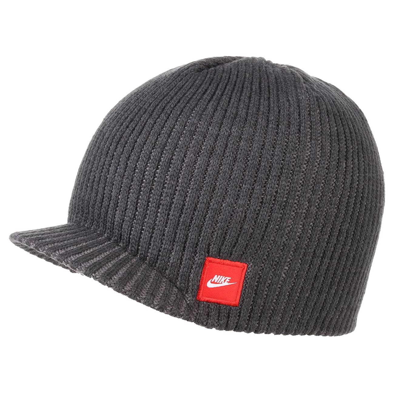 ce414d008a5 ... switzerland rib peak pull on hat by nike grey 1 84d17 44737