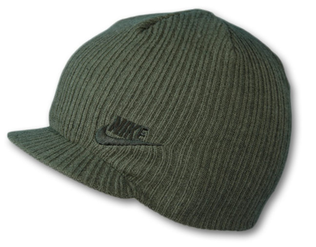 7d13ebd8dc5fb8 ... Rib Peak Pull On Hat by Nike - olive 1 ...