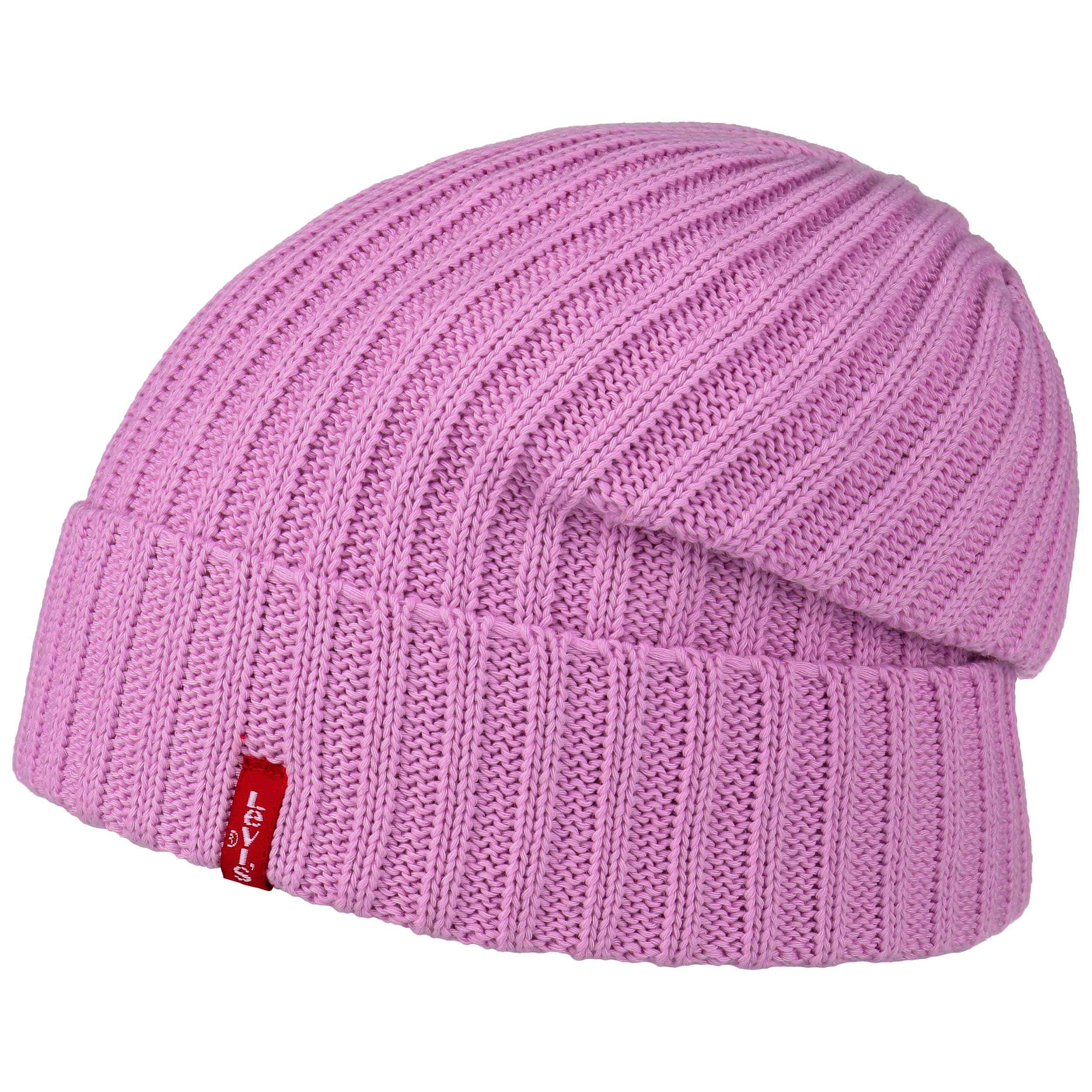 d5c4e3b025d ... yellow 4 · Ribbed Cotton Beanie Hat by Levi´s - pink 4 ...