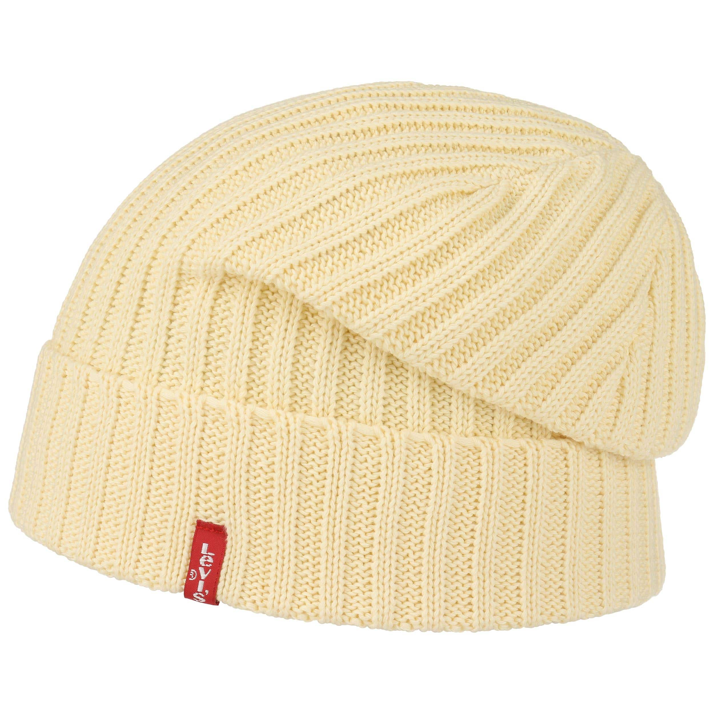 adc892ce00f Ribbed Beanie in Yellow Yellow Levi s 1hU9WArCS - cg-powell.com