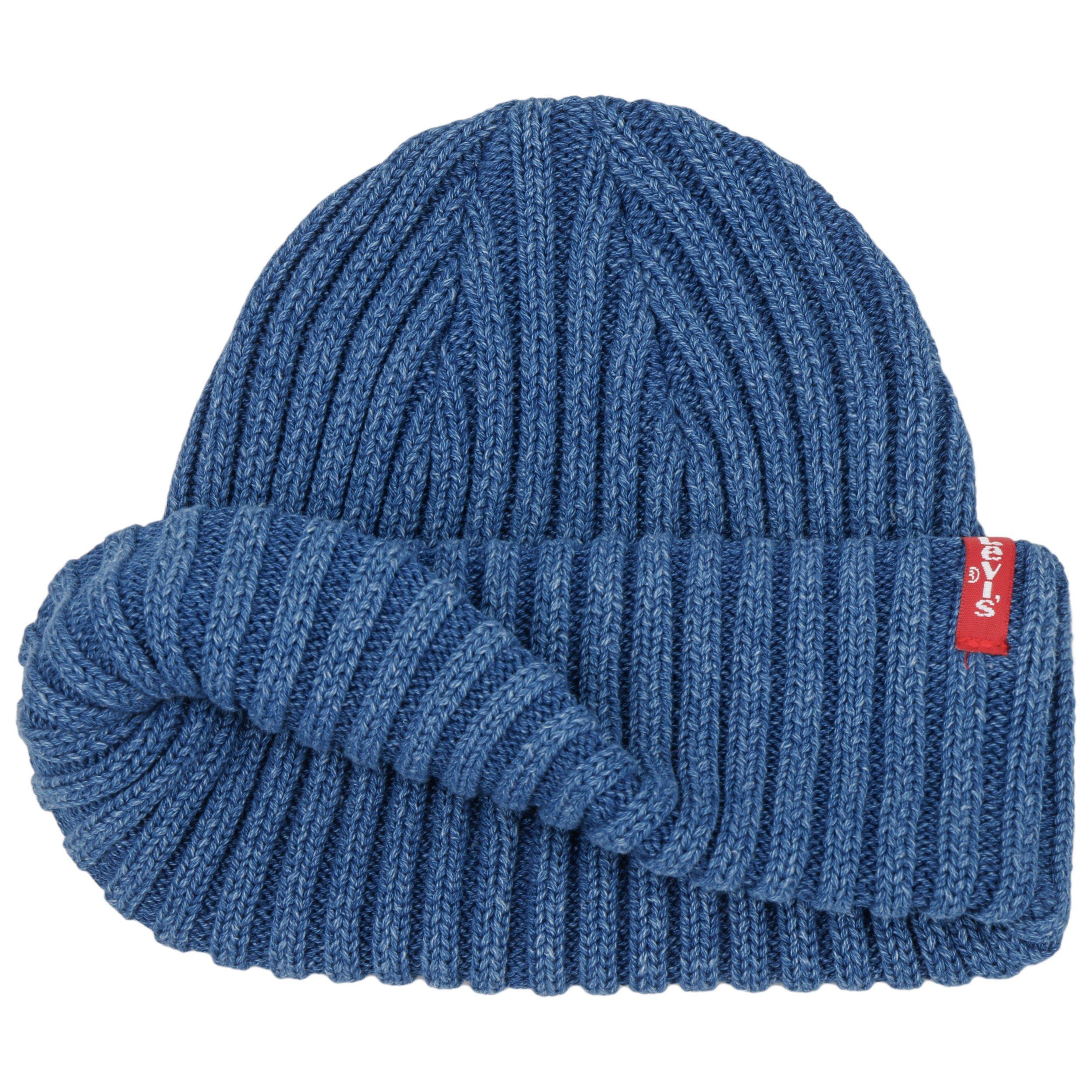 8f26ec6750b Ribbed Indigo Beanie by Levi´s - blue 1 ...