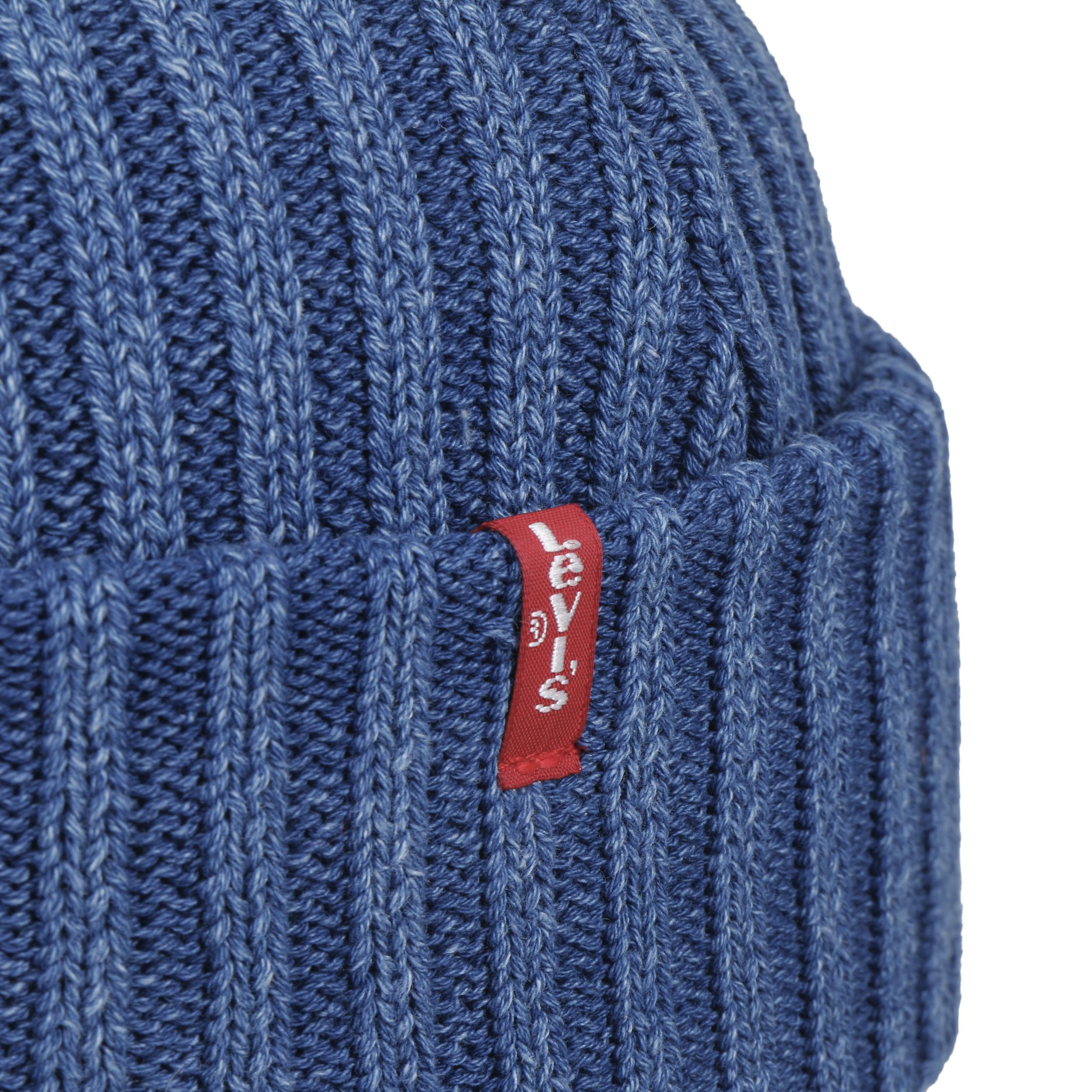 bbd14174cd3 ... Ribbed Indigo Beanie by Levi´s - blue 2 ...