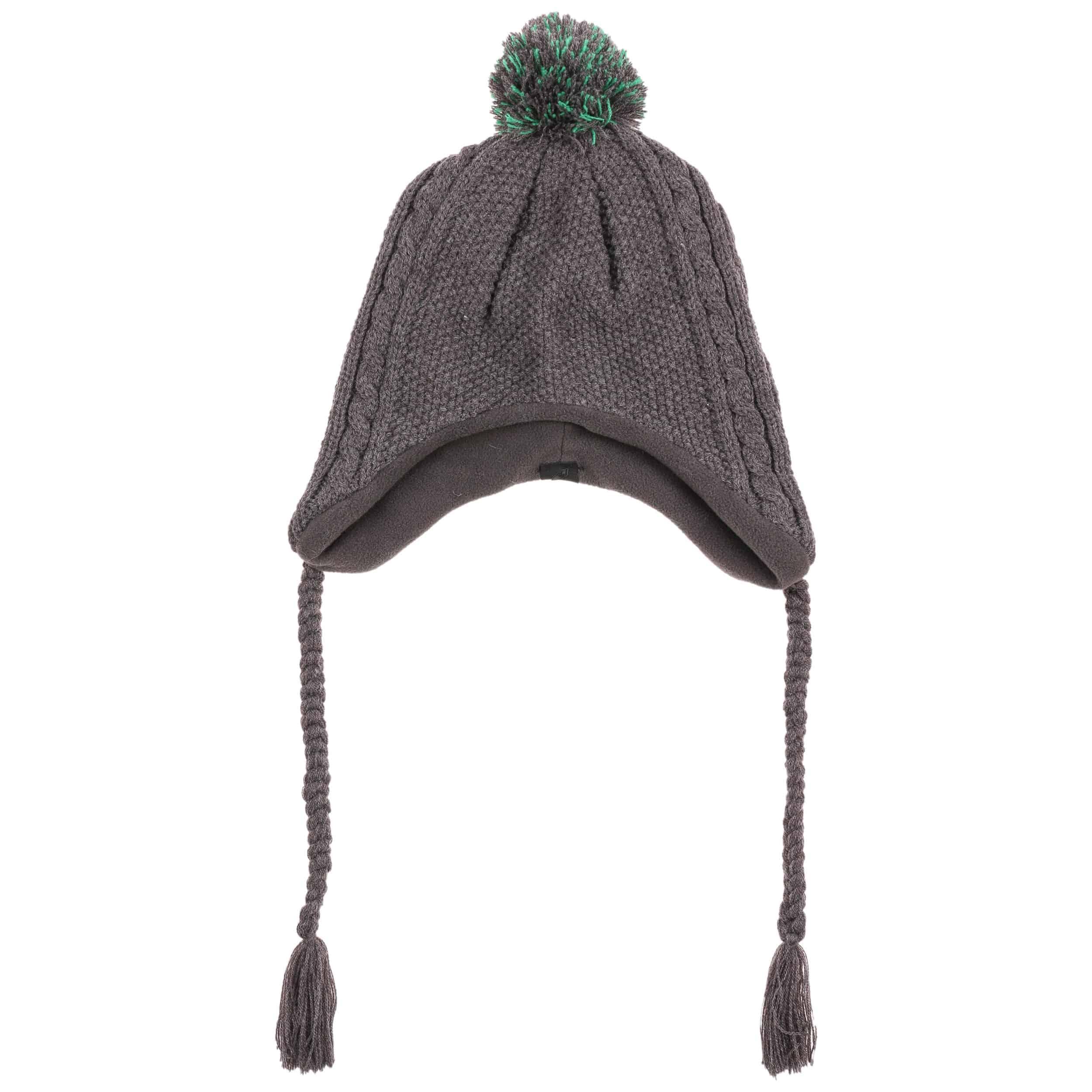 cb8407c84e7 Ritzy Peruvian Hat with Pompom - grey 1 ...