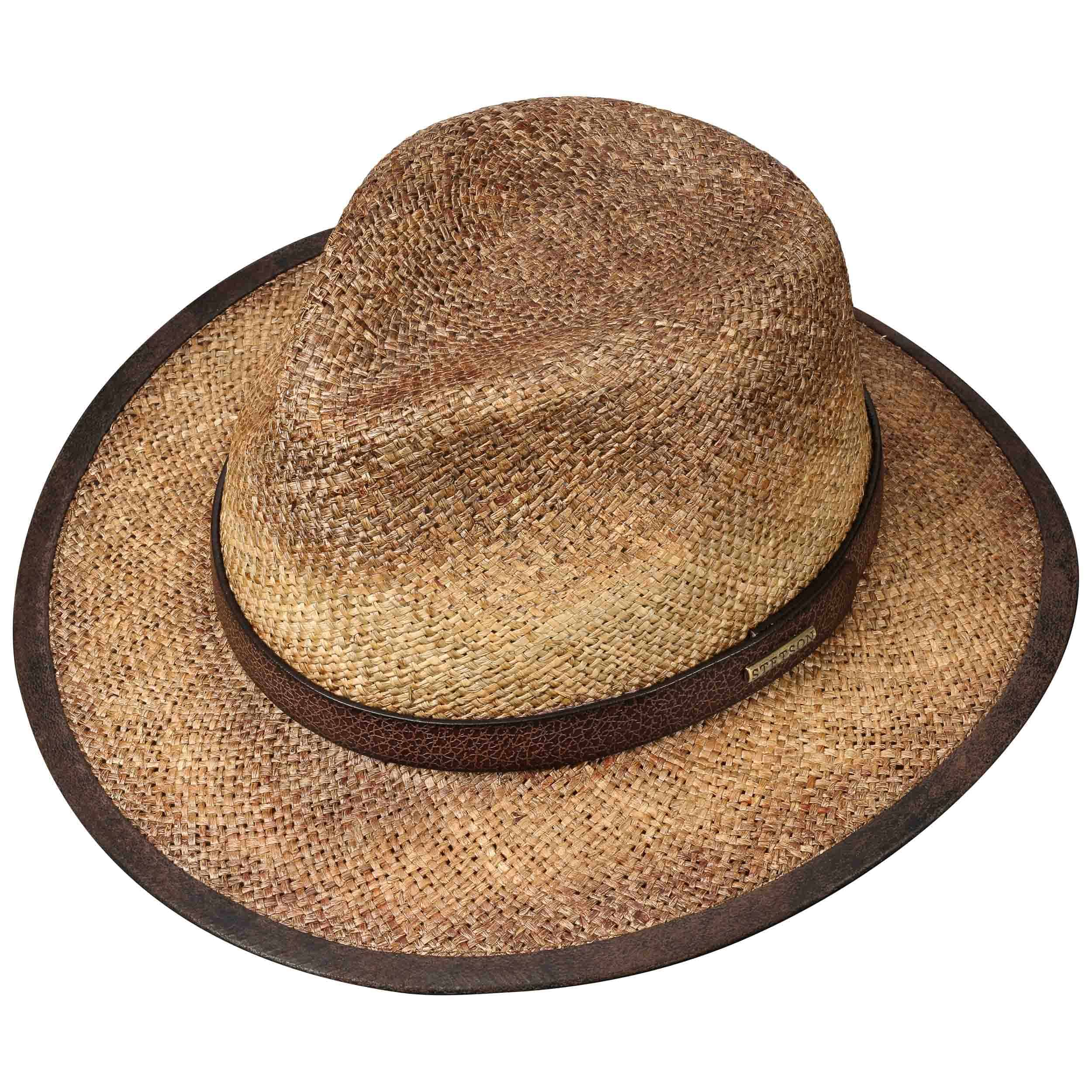 8e853326bf5 Rodeo Seagrass Traveller Hat by Stetson - brown 1 ...