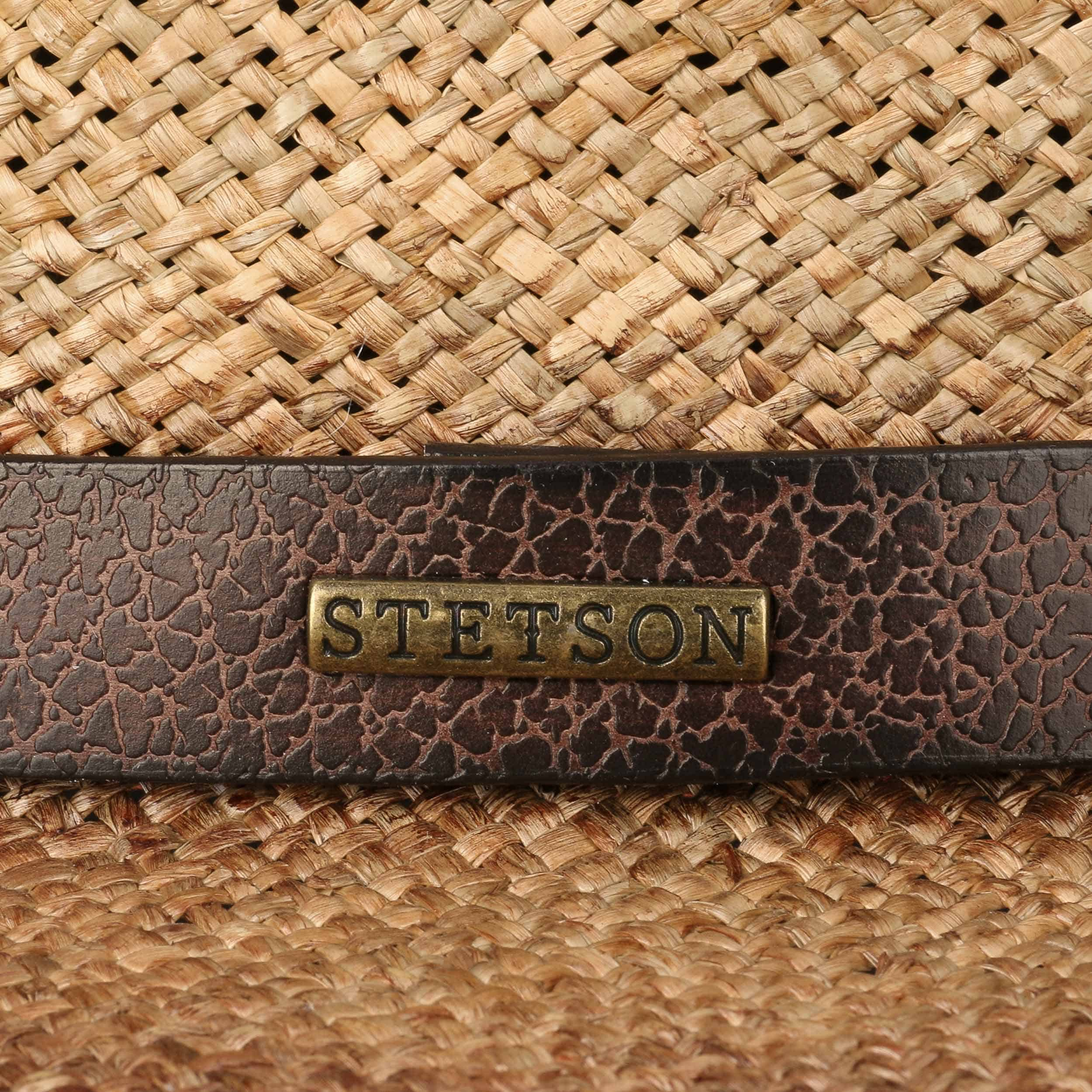 88870940108 ... Rodeo Seagrass Traveller Hat by Stetson - brown 3 ...