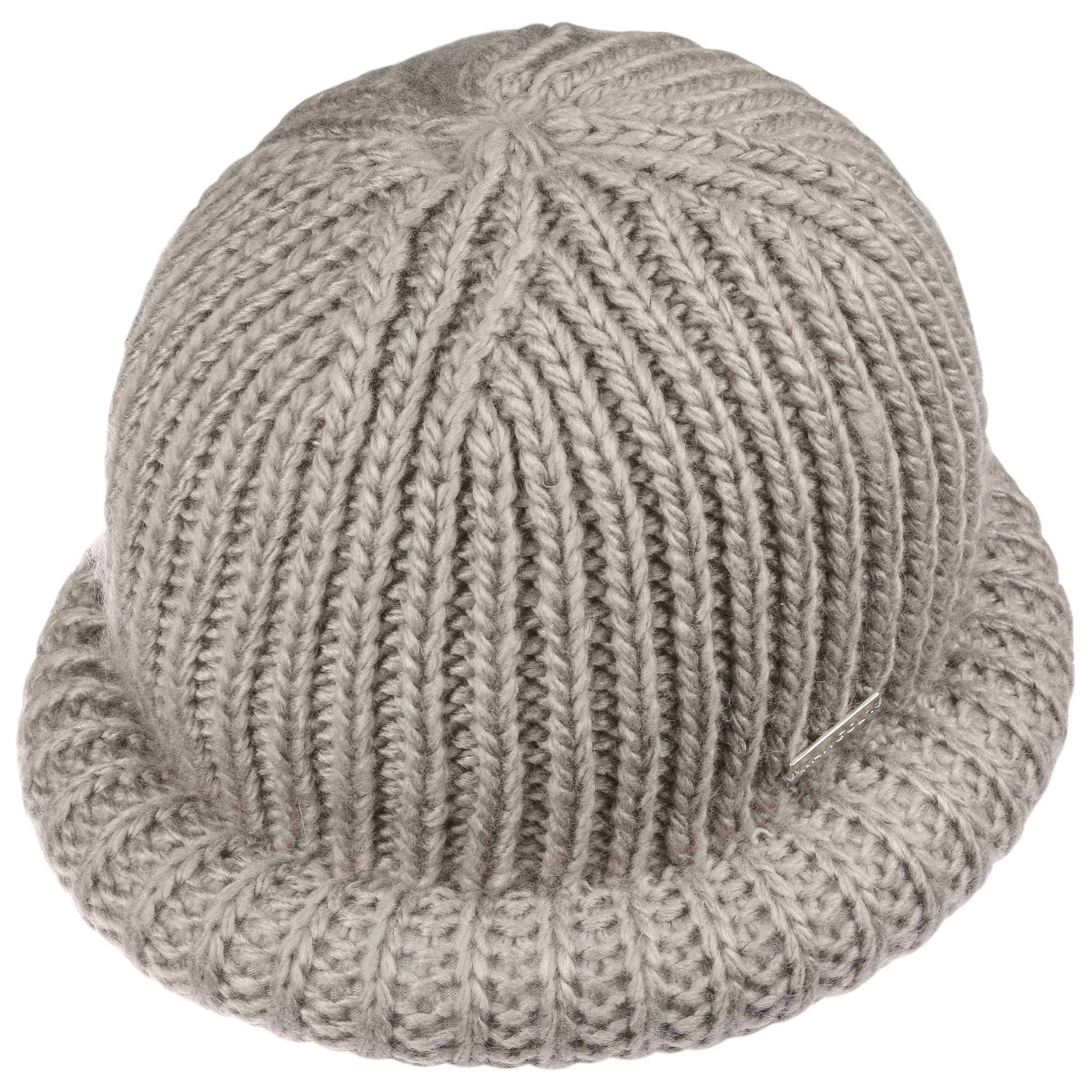 88001d4ea96b7 Rolled Beanie Hat by Kangol - grey 1 ...