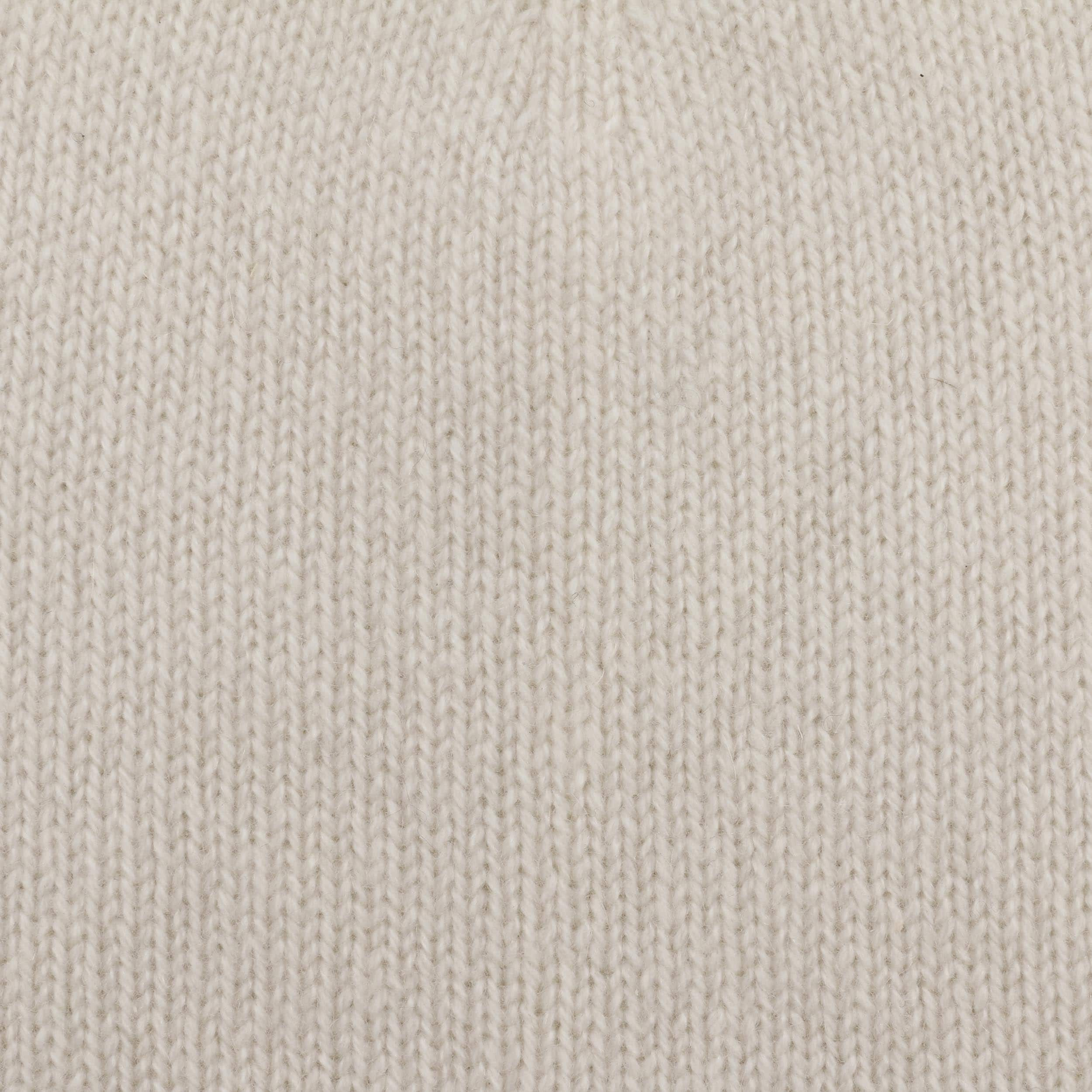 2af2a8da18a ... Rolled Edge Cashmere Beanie by Seeberger - cream white 2 ...