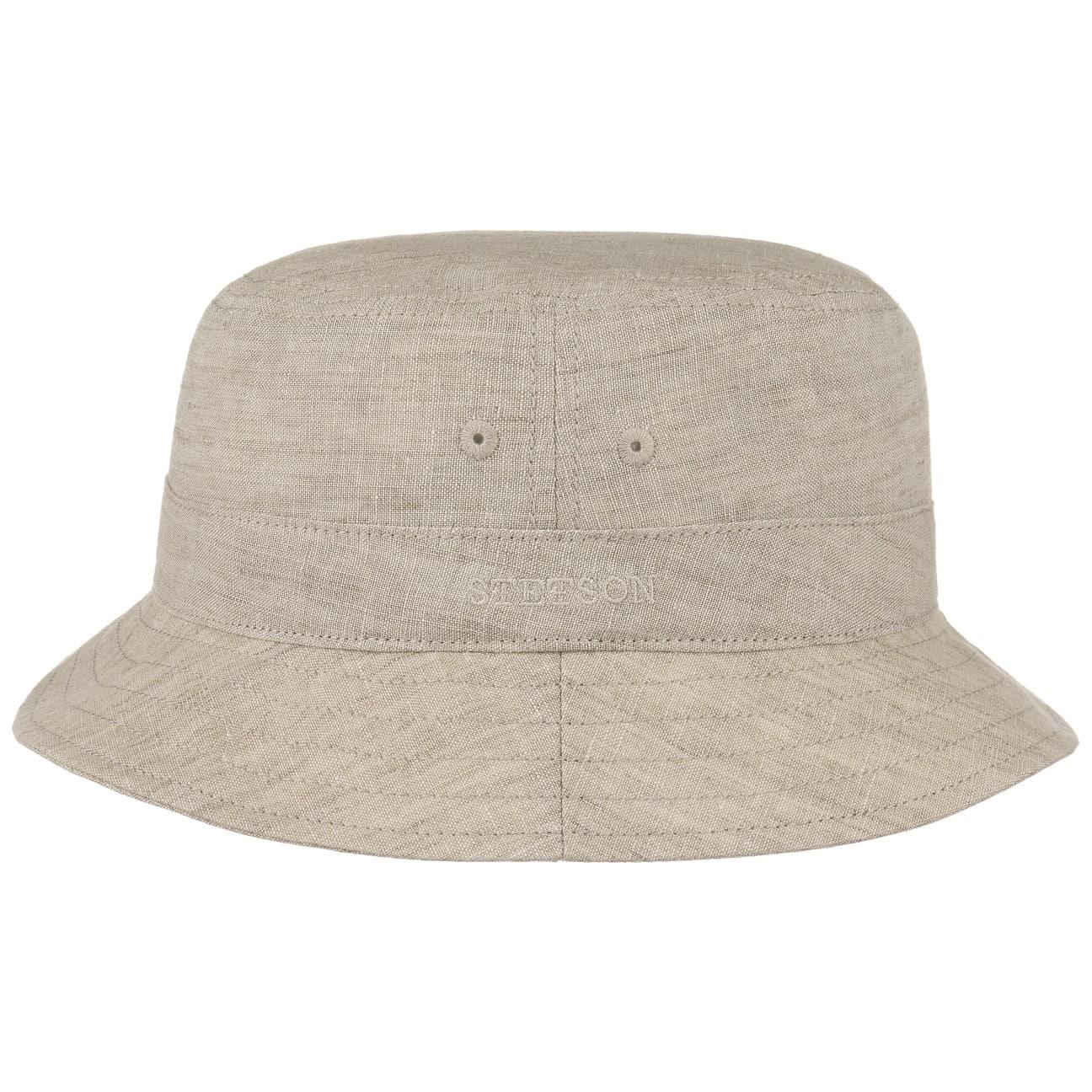 ... Ros Linen Bucket Hat by Stetson - beige 4 ... 3895c681401