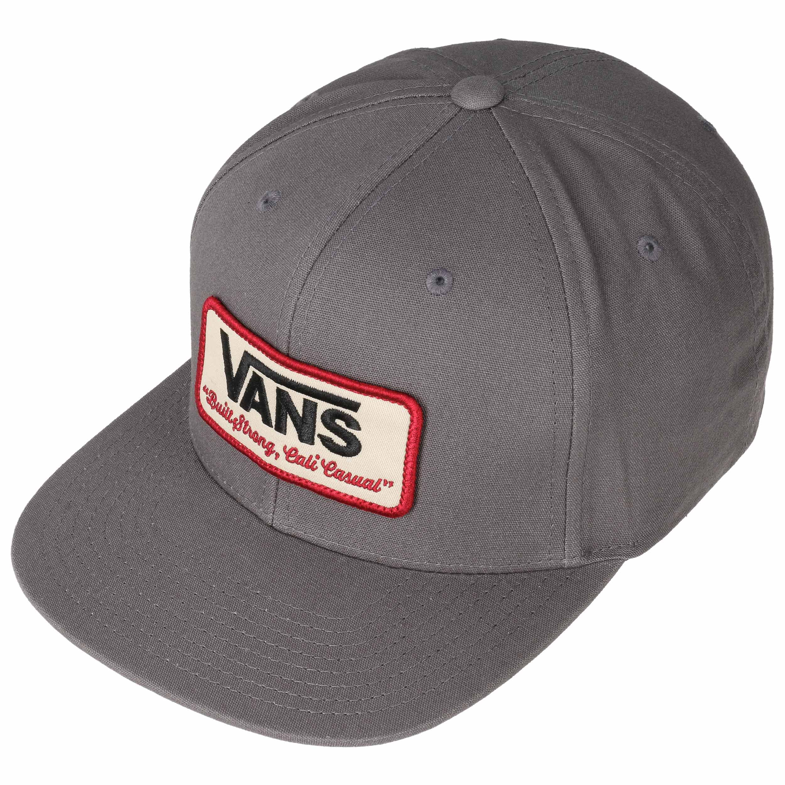 593bd28718f Rowley Snapback Cap by Vans - grey 1 ...
