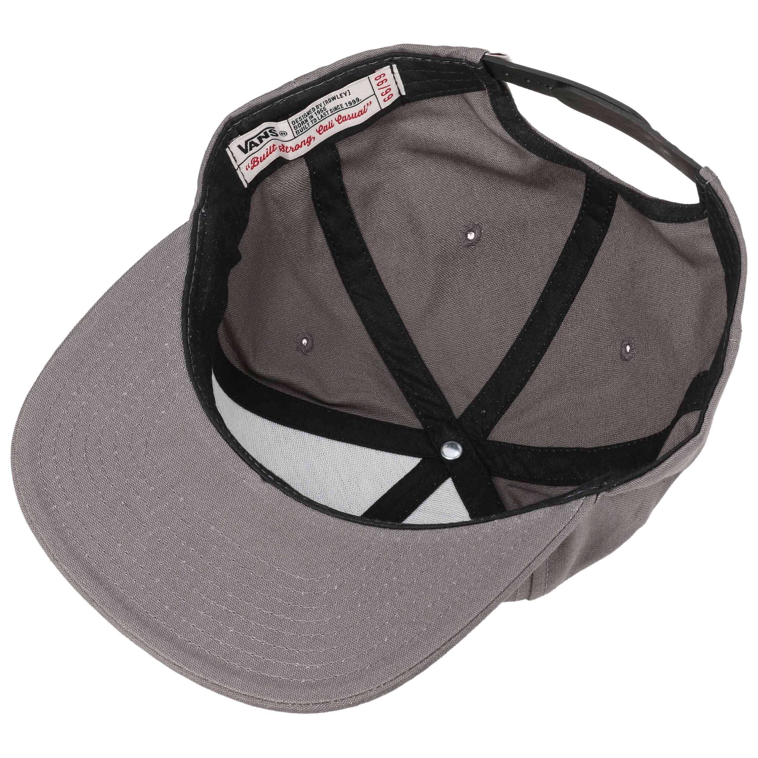 ... Rowley Snapback Cap by Vans - grey 2 ... 376200e6852
