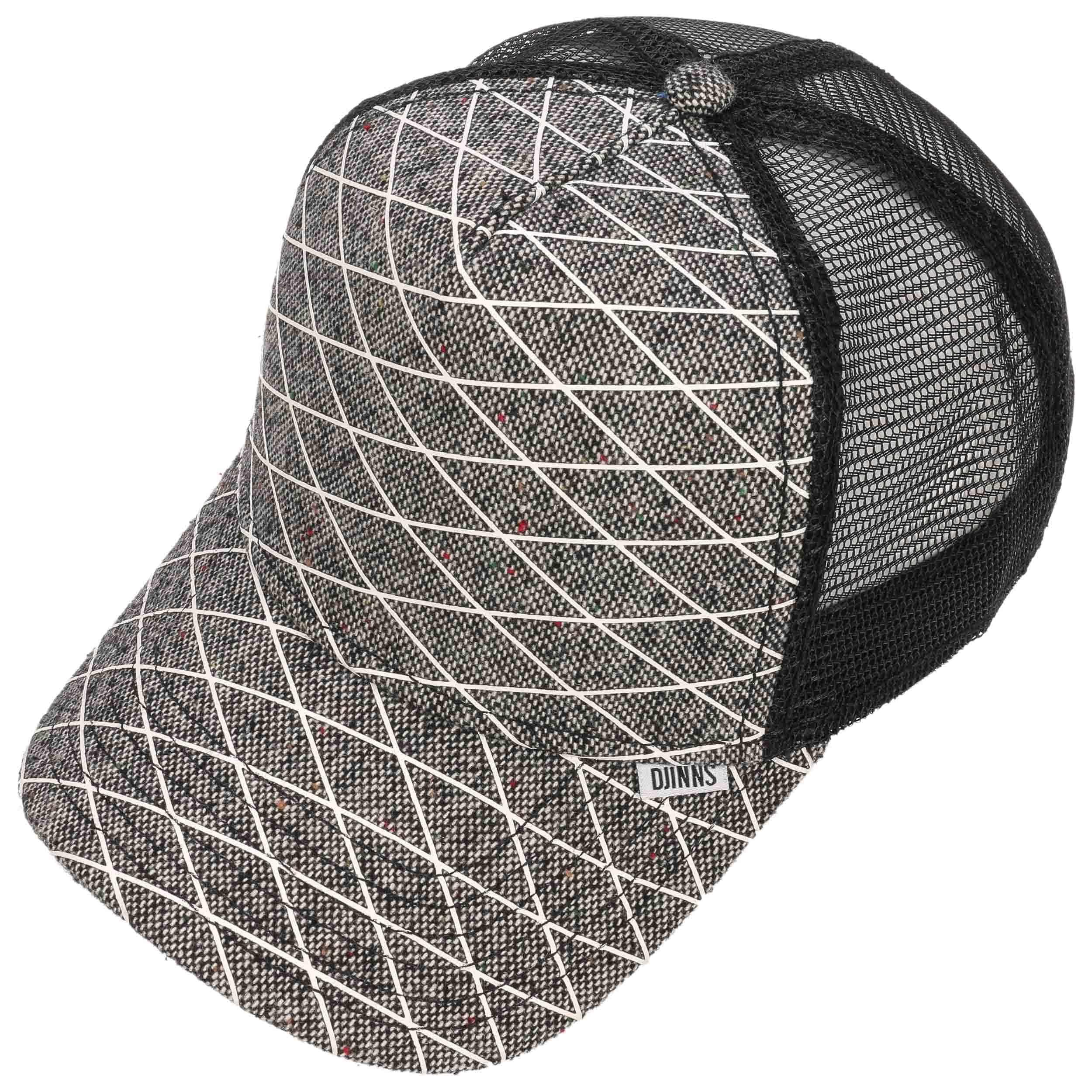 rubber tweed hft trucker cap by djinns gbp 22 95 hats. Black Bedroom Furniture Sets. Home Design Ideas