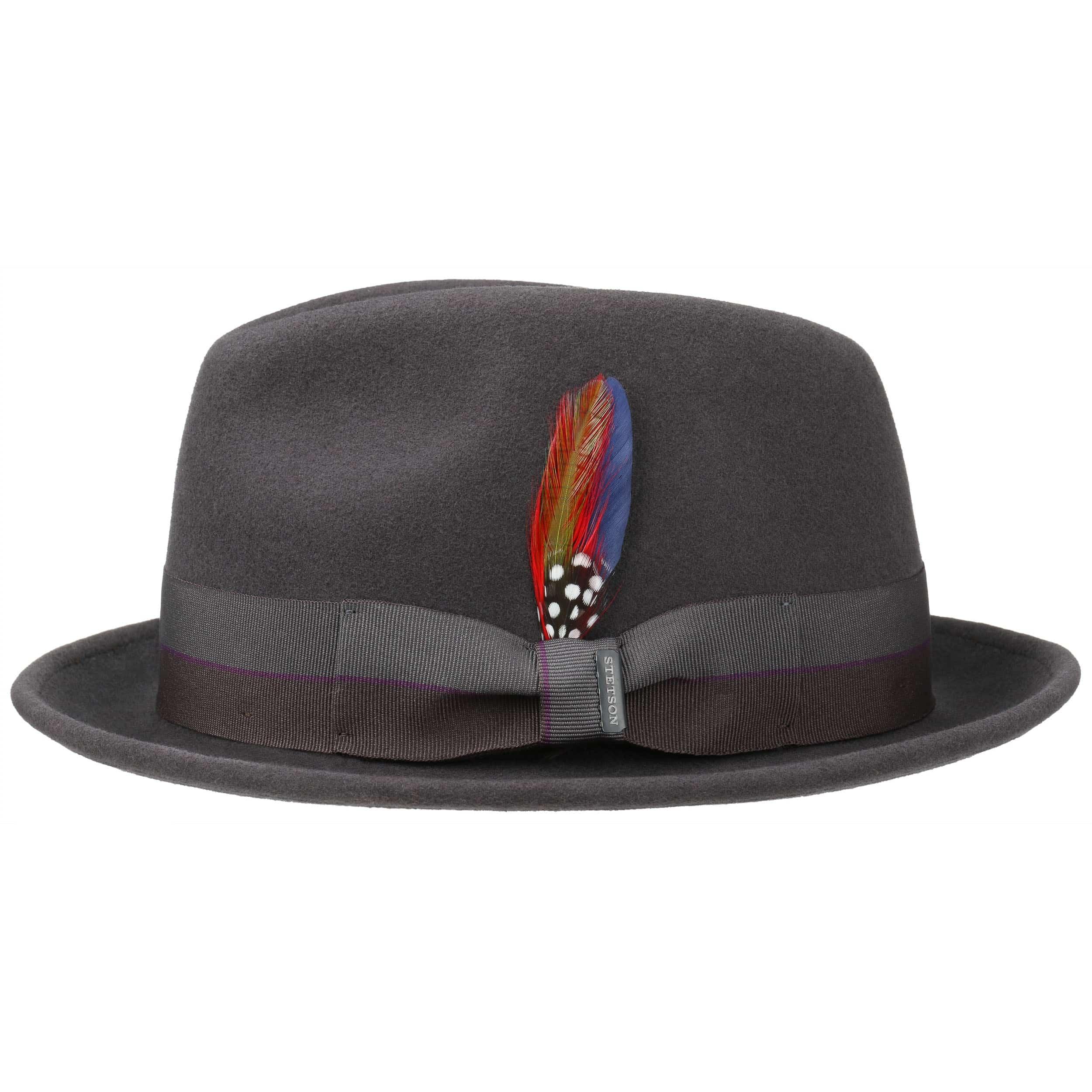 Sapiro Player Hat Wool Felt Hat by Stetson 7f8cbf8dd15