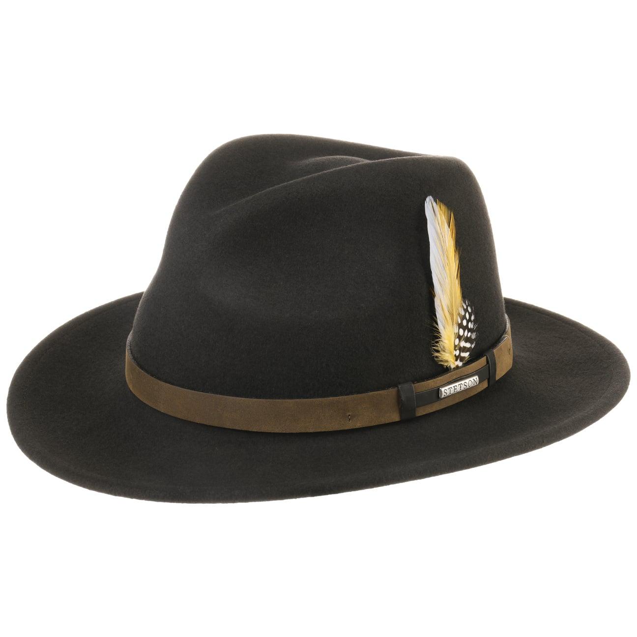 ... Sardis VitaFelt Traveller Hat by Stetson - brown 1 ... 54cd7a143b8
