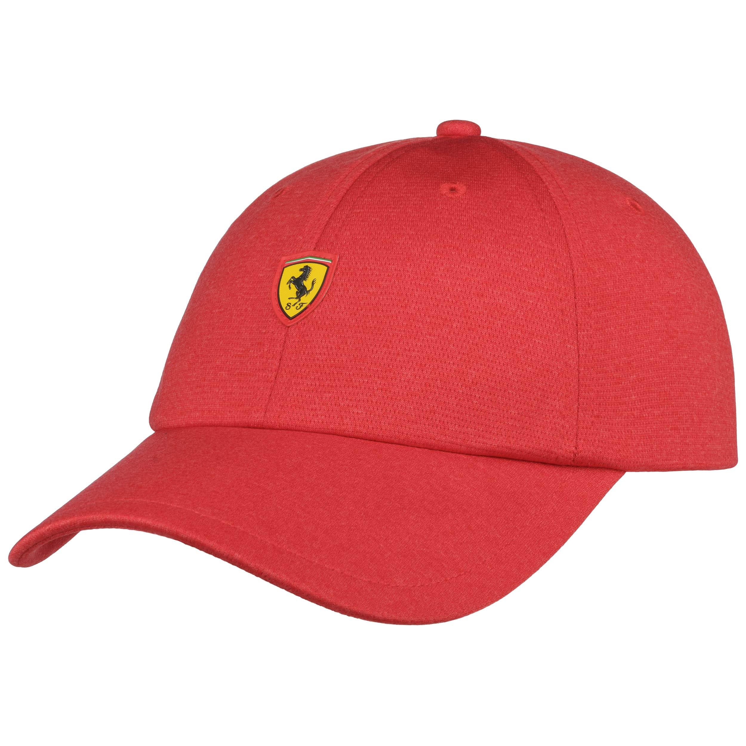 313cc9be936 ... get scuderia ferrari fanwear cap by puma red 5 495f1 b2c25