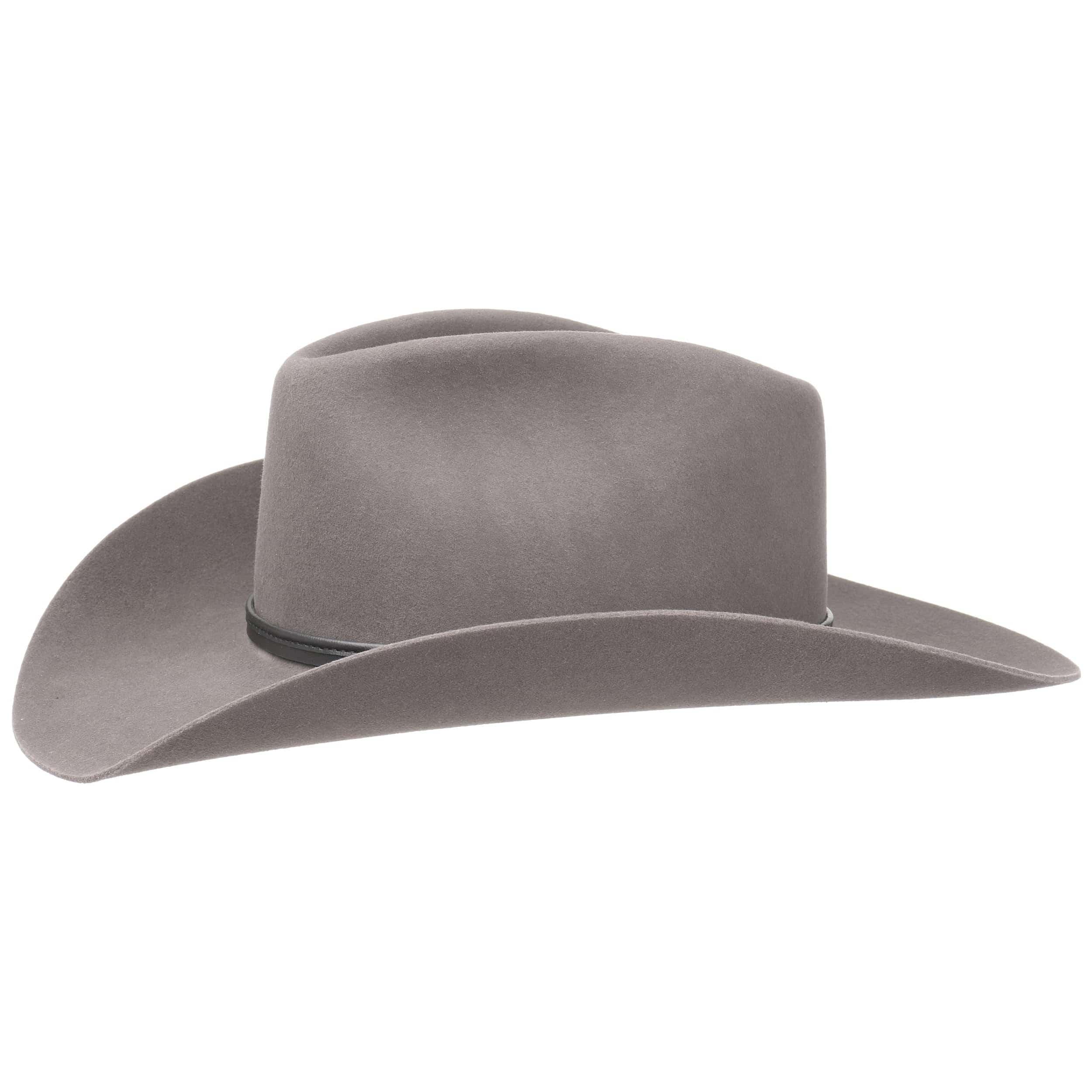 dd683d9f3 Grey Felt Cowboy Hat