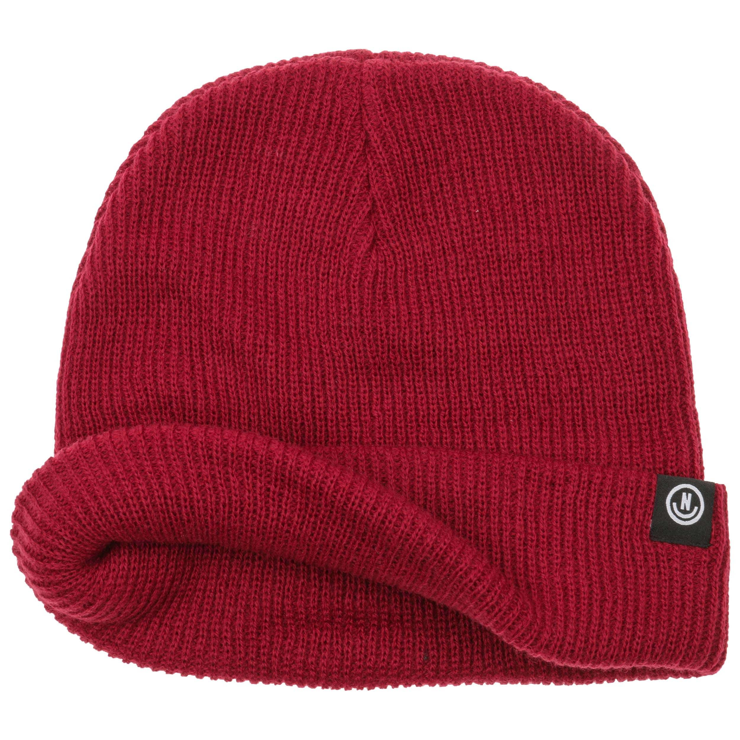 e9d0190b3e1 Serge Beanie by neff - dark red 1 ...