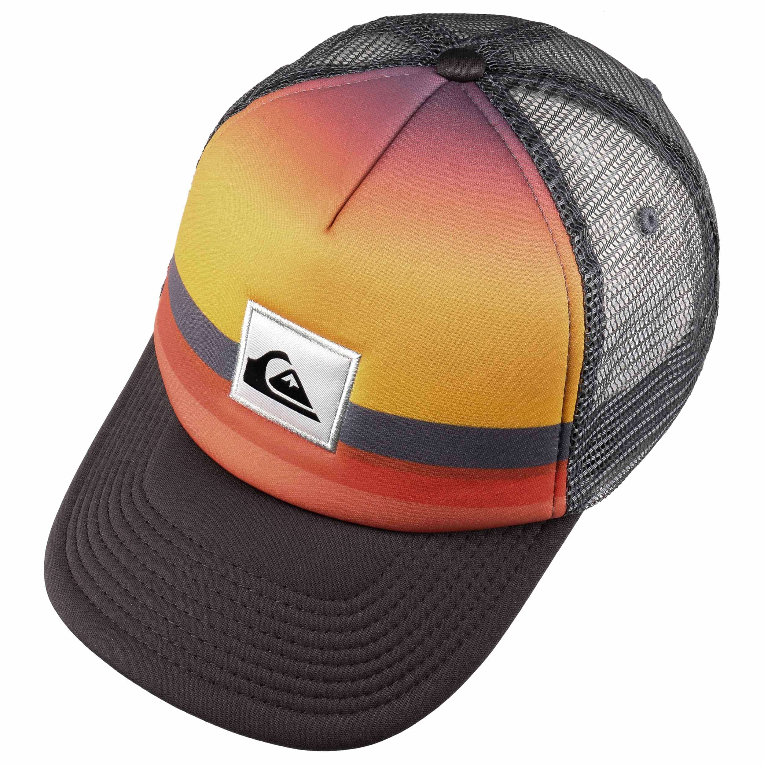 20ff6c647ba743 Sets Coming Youth Trucker Cap by Quiksilver - orange 1 ...