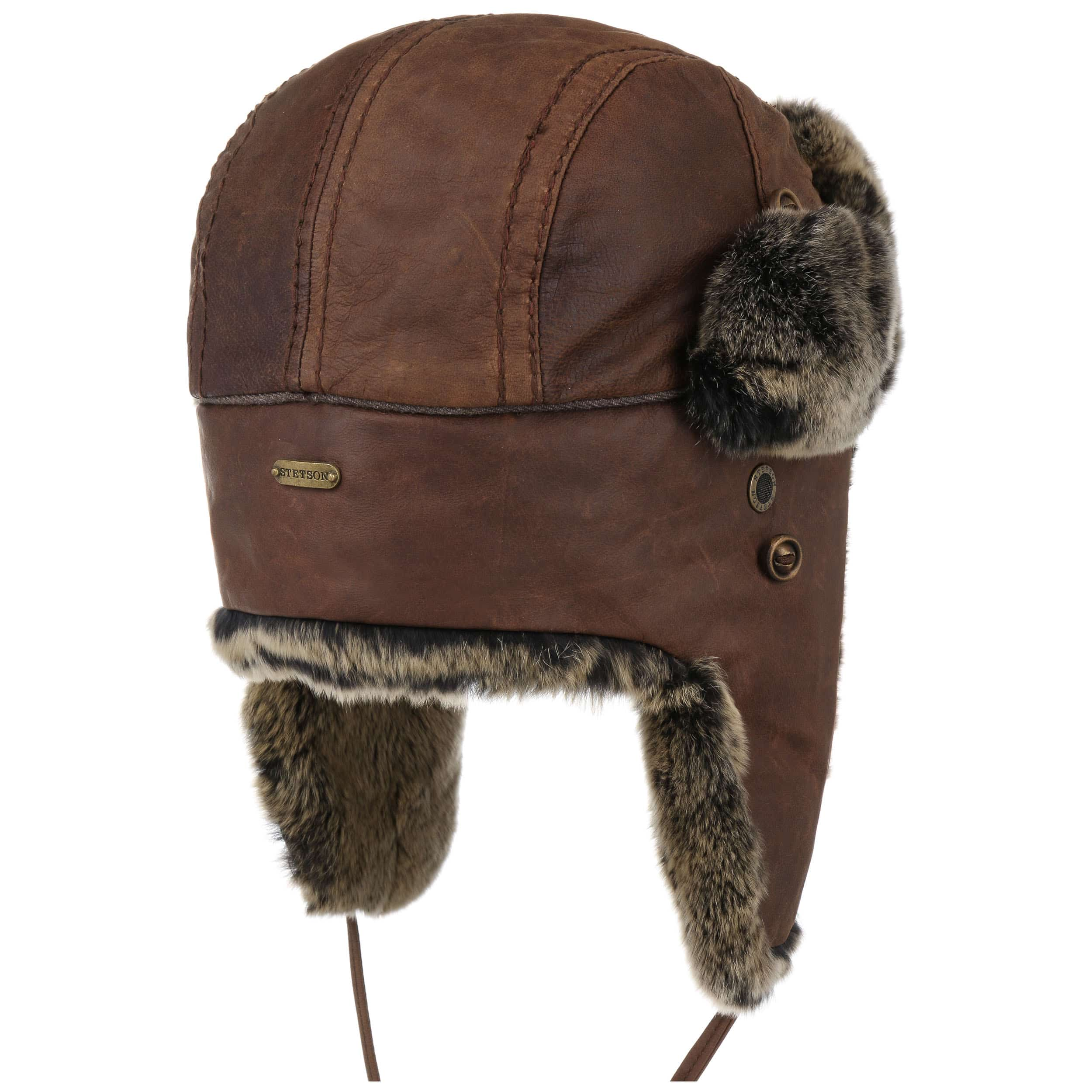 ... Shiprock Lapeer Aviator Hat by Stetson - brown 3 ... f10b79a1077