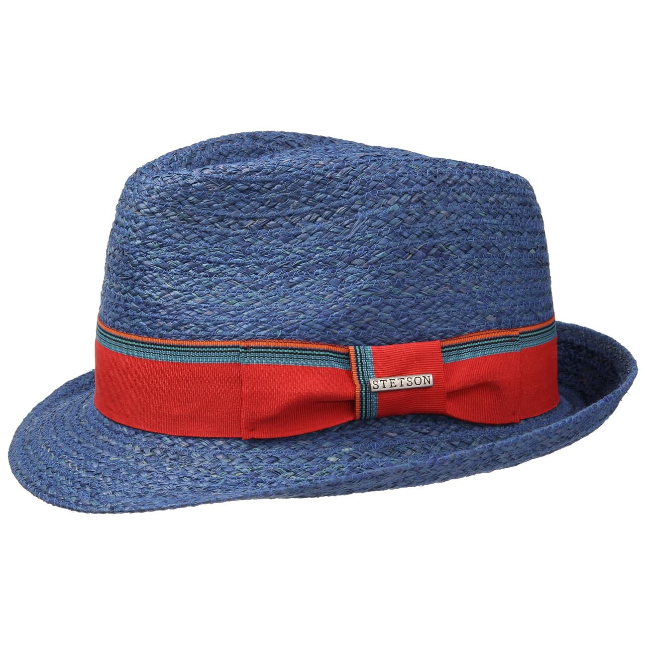 016f895c0da ... Sidney Raffia Straw Trilby Hat by Stetson - nature 4 ...