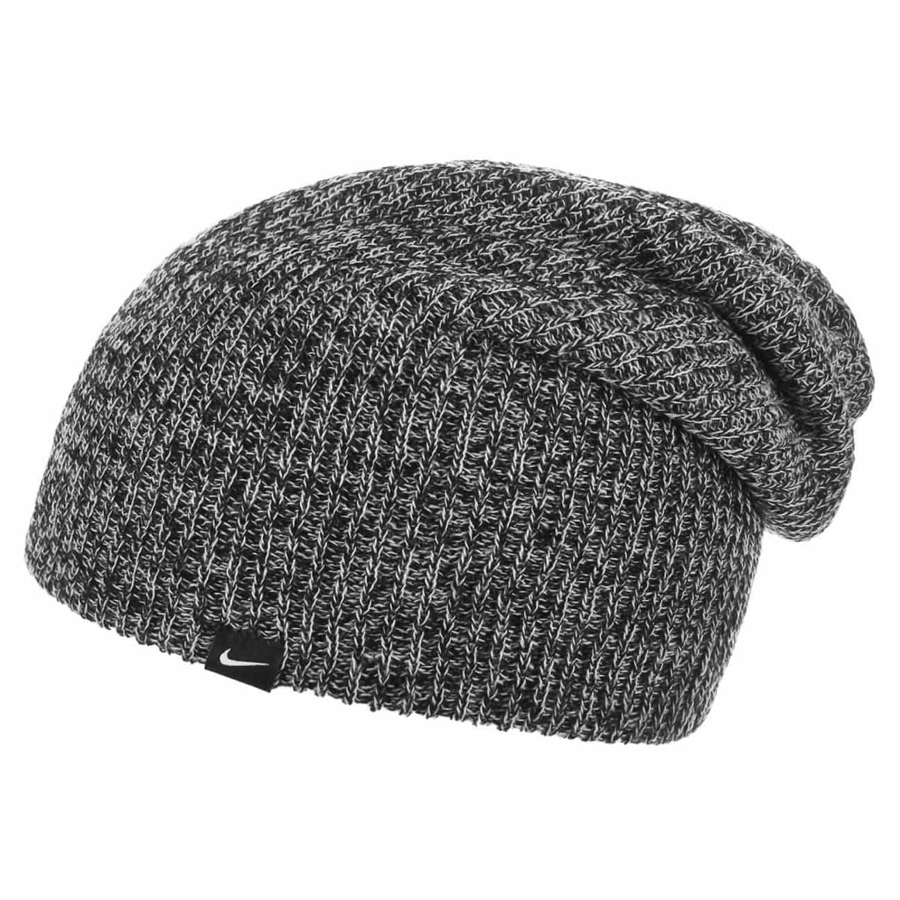 db1136c60ea ... Slouch Knit Beanie by Nike - black 1