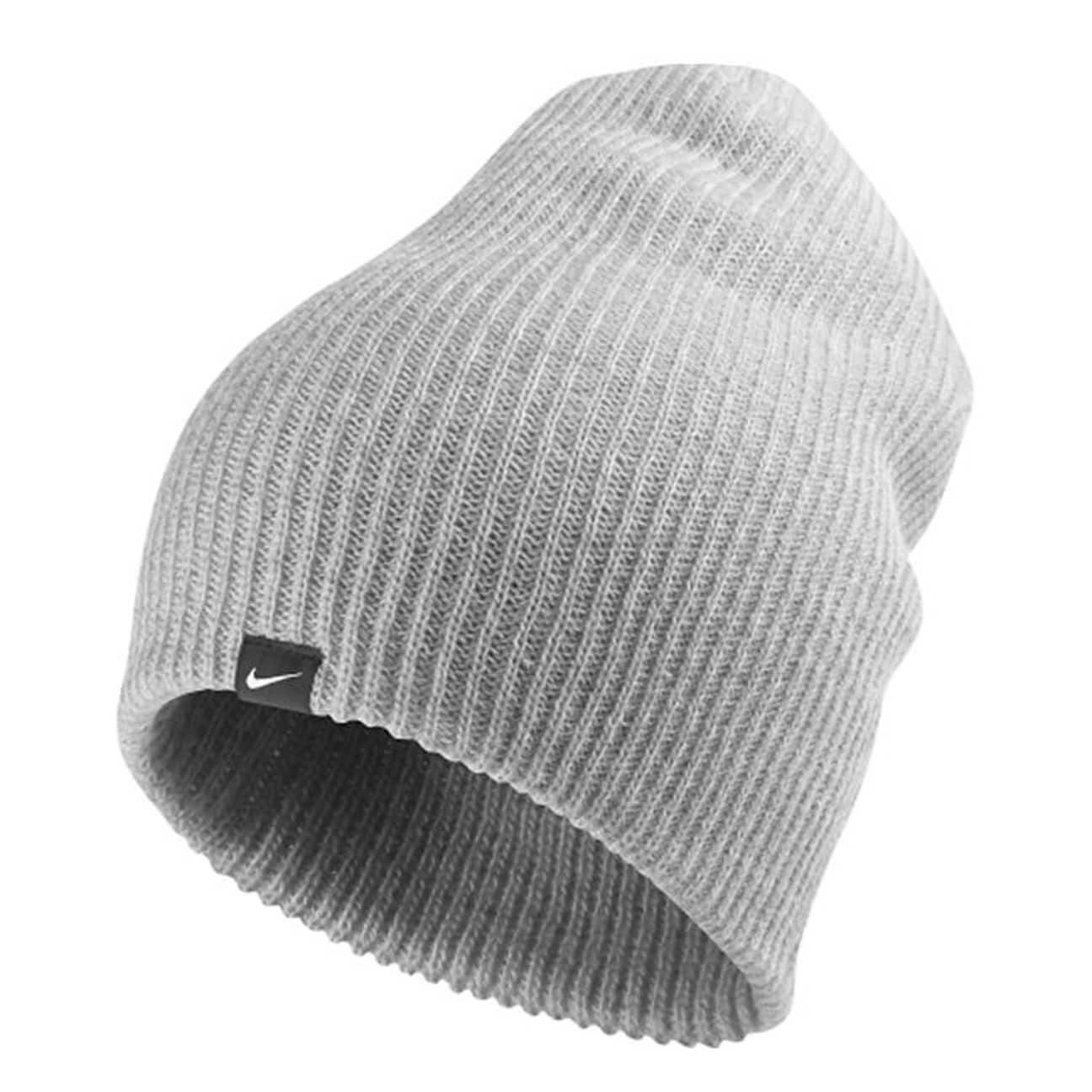 e224f68ae4f Slouch Knit Beanie by Nike - grey 1 ...