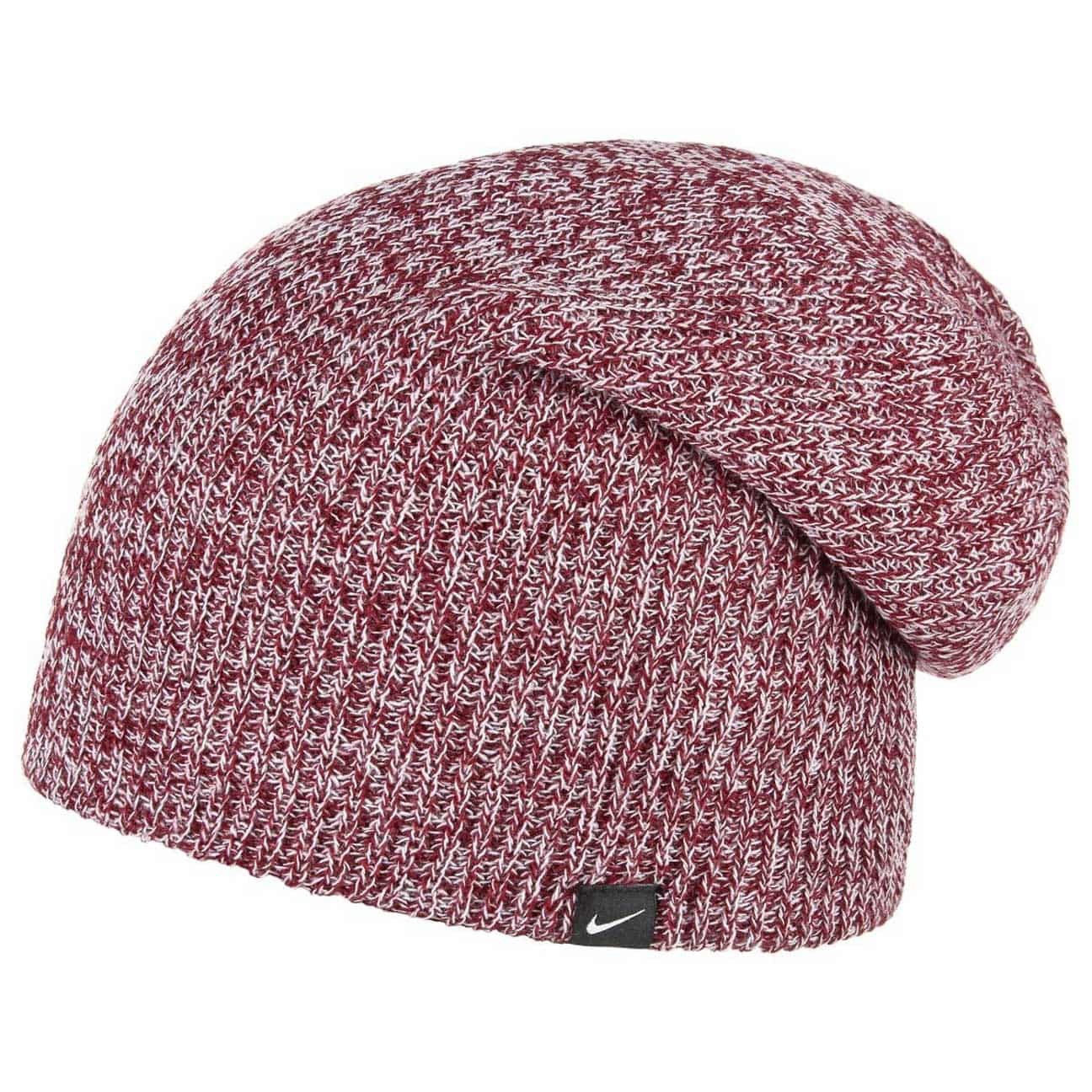 d57697e824f ... Slouch Knit Beanie by Nike - red 1 ...