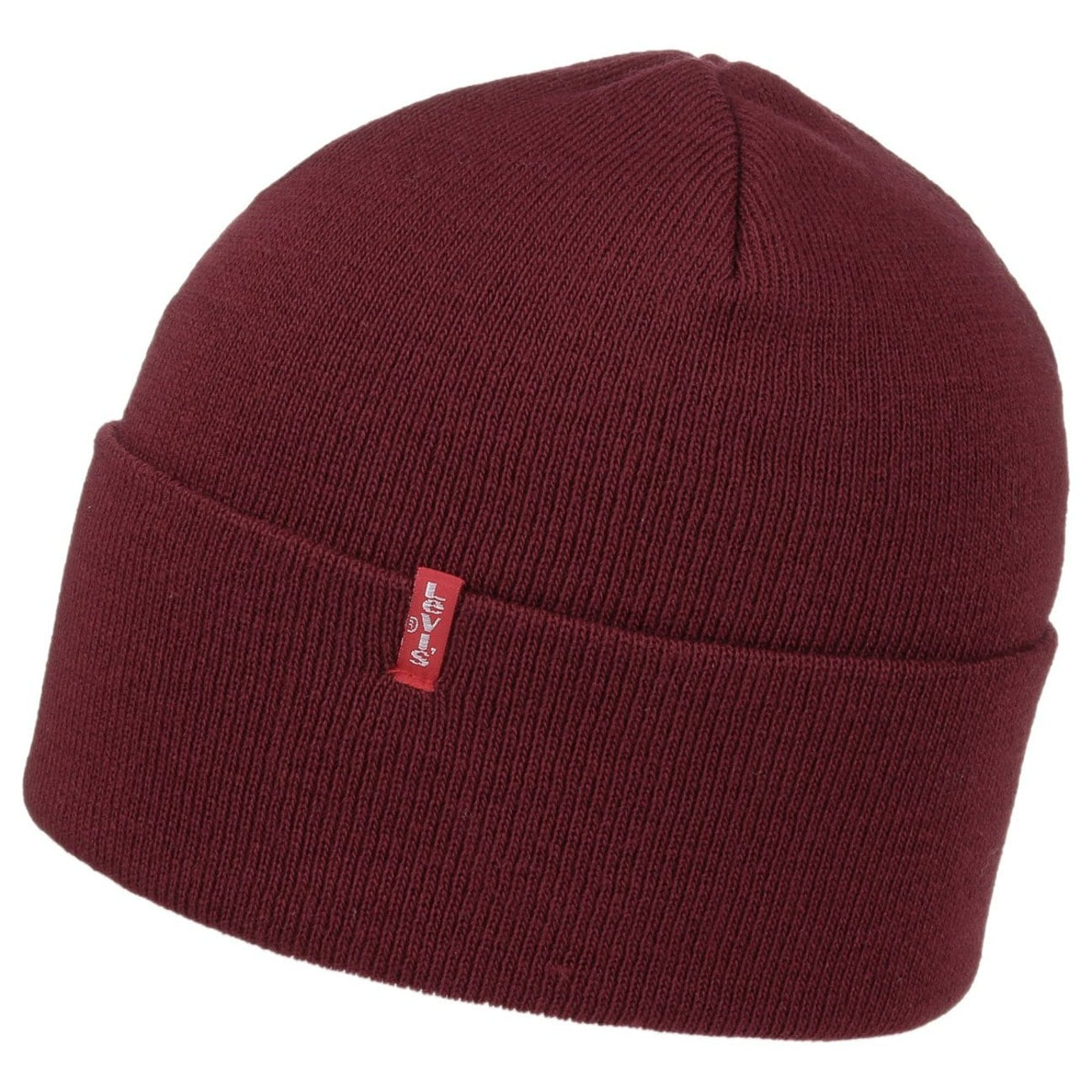 a13eed3c ... Slouchy Knit Hat by Levi´s - bordeaux 3 ...