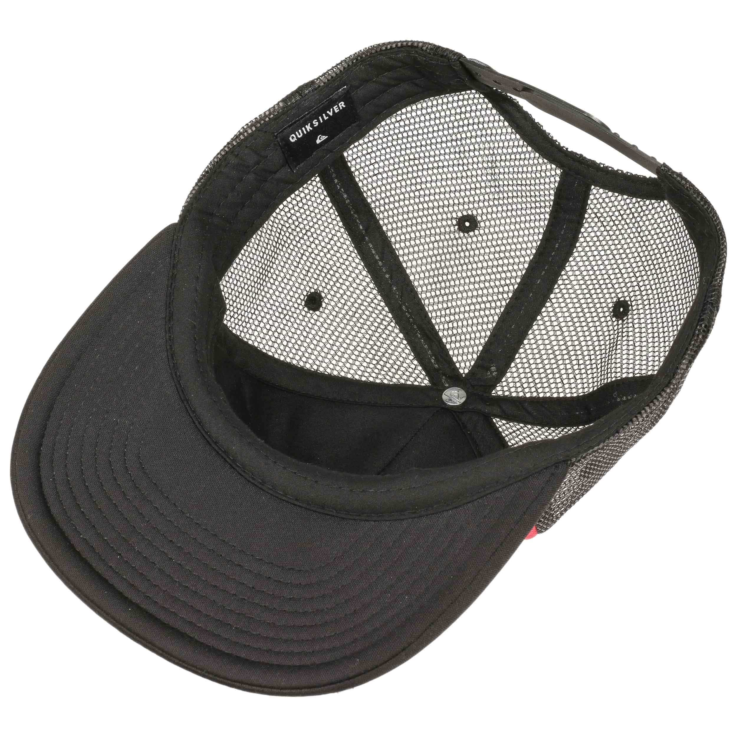 ... Snap Addict Trucker Cap by Quiksilver - black 2 ... e187d865931