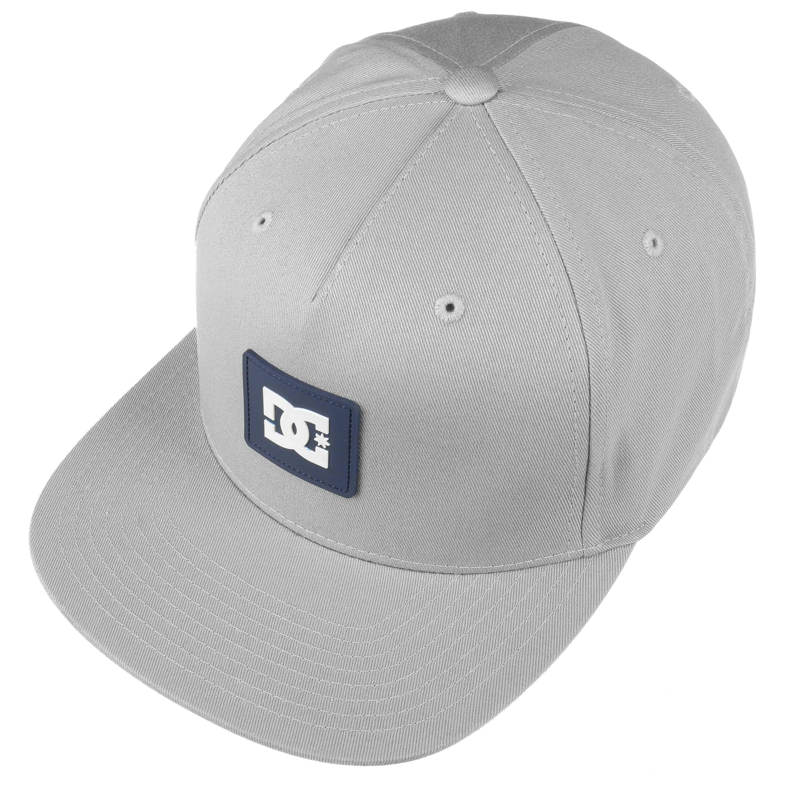 06aee94eb73 Snapdoodle Snapback Cap by DC Shoes Co - light grey 1 ...
