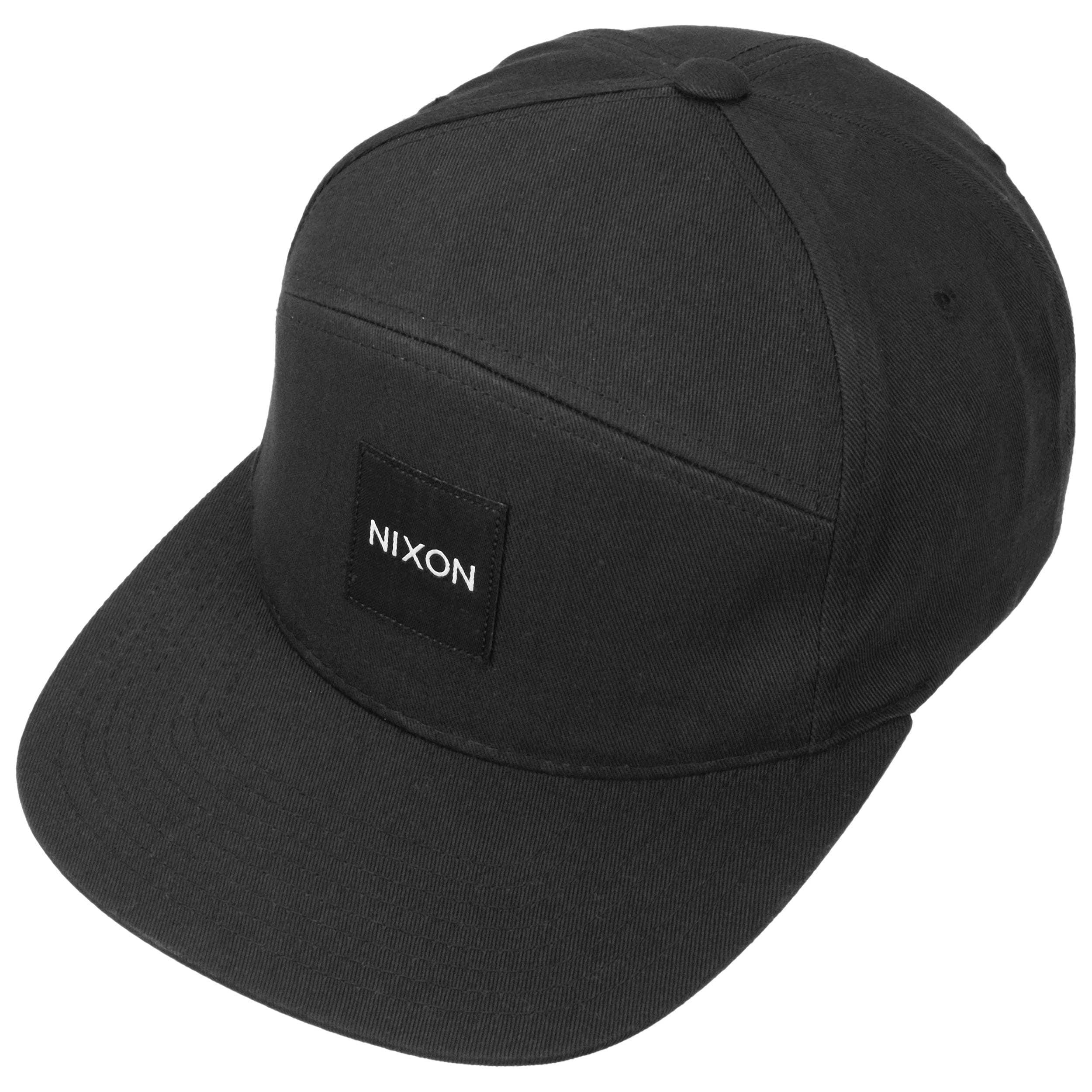 4d9dbd5748c Snapper Snapback Cap by Nixon - black 1 ...