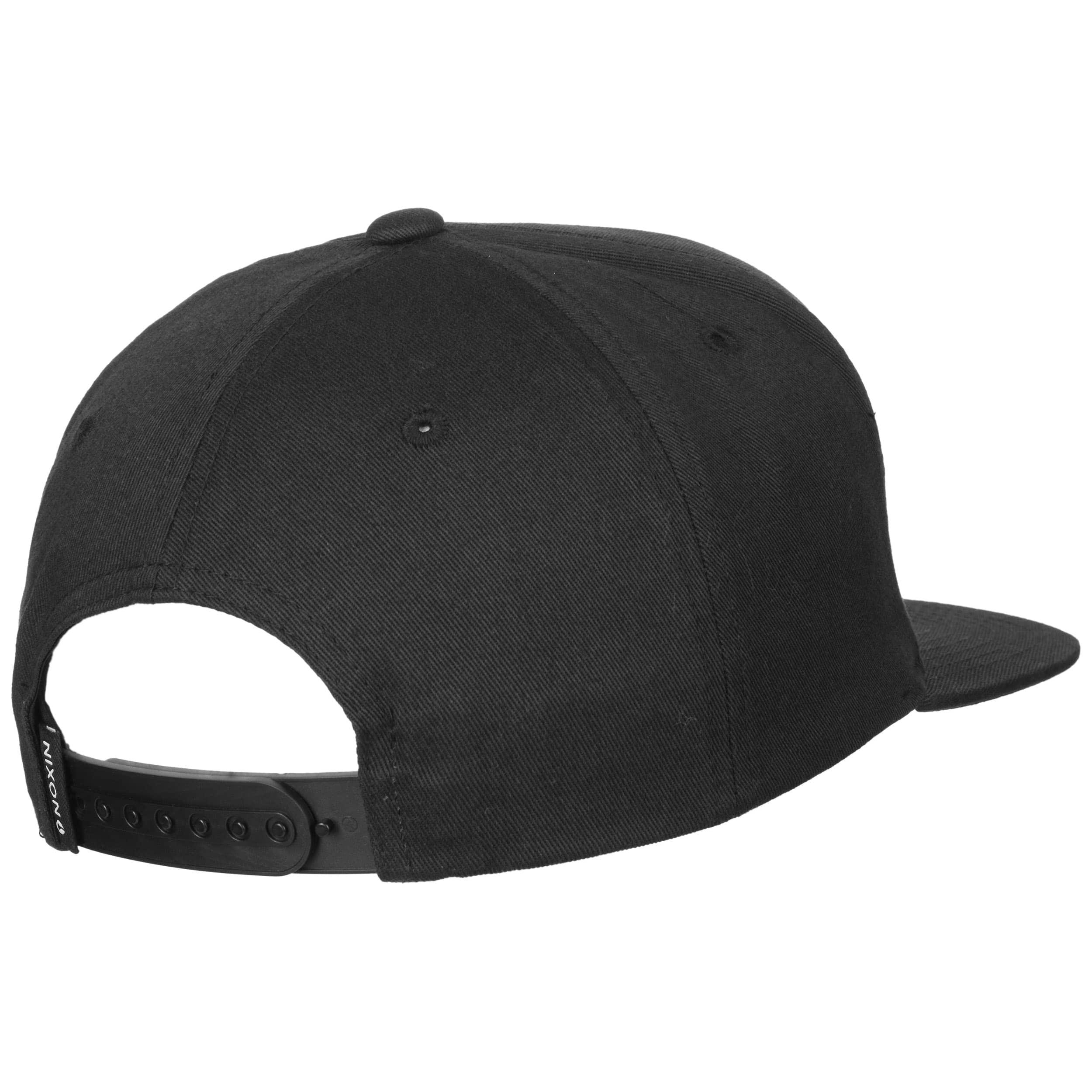 a9e4f805746 ... Snapper Snapback Cap by Nixon - black 3 ...
