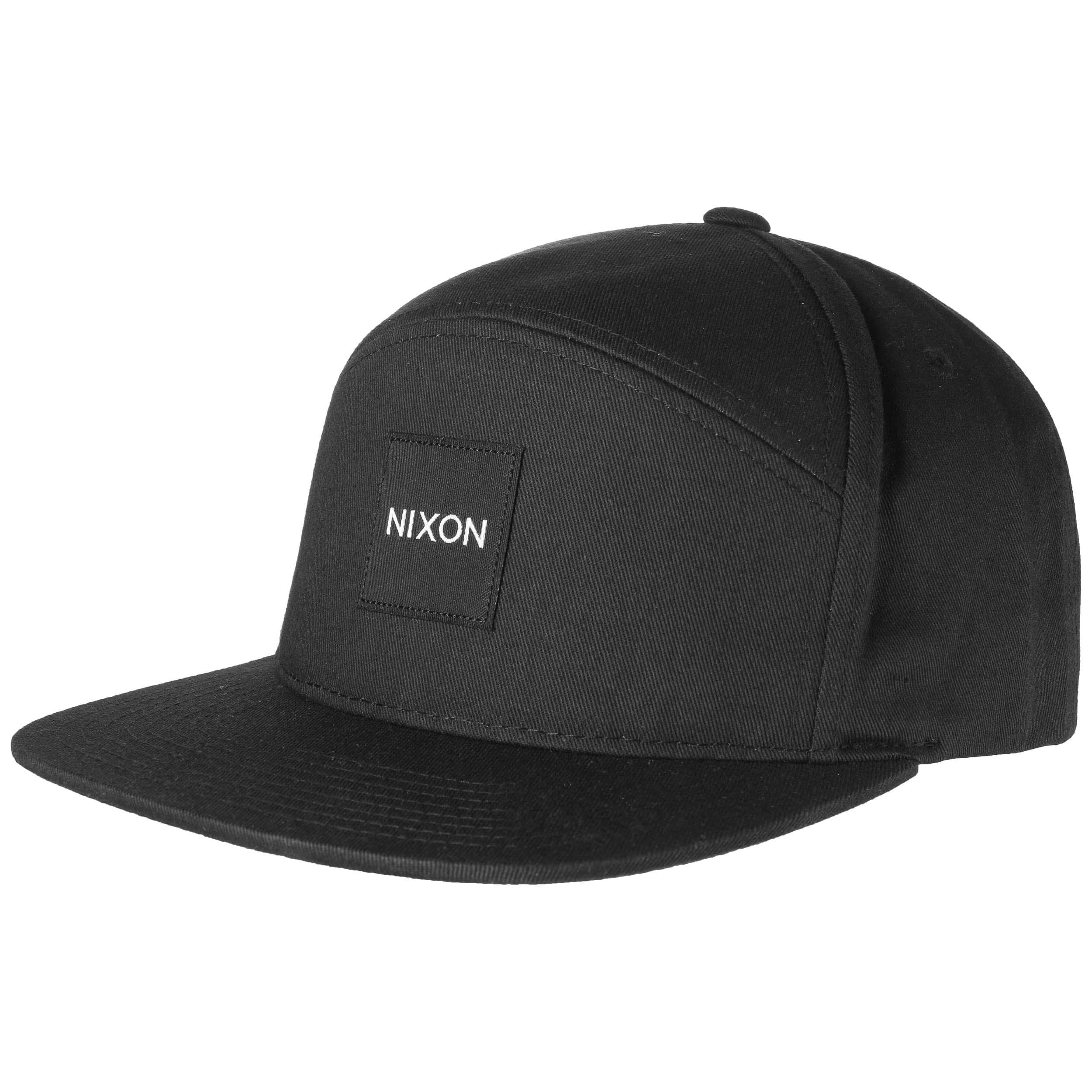 a4e8dfcd146 ... Snapper Snapback Cap by Nixon - black 4