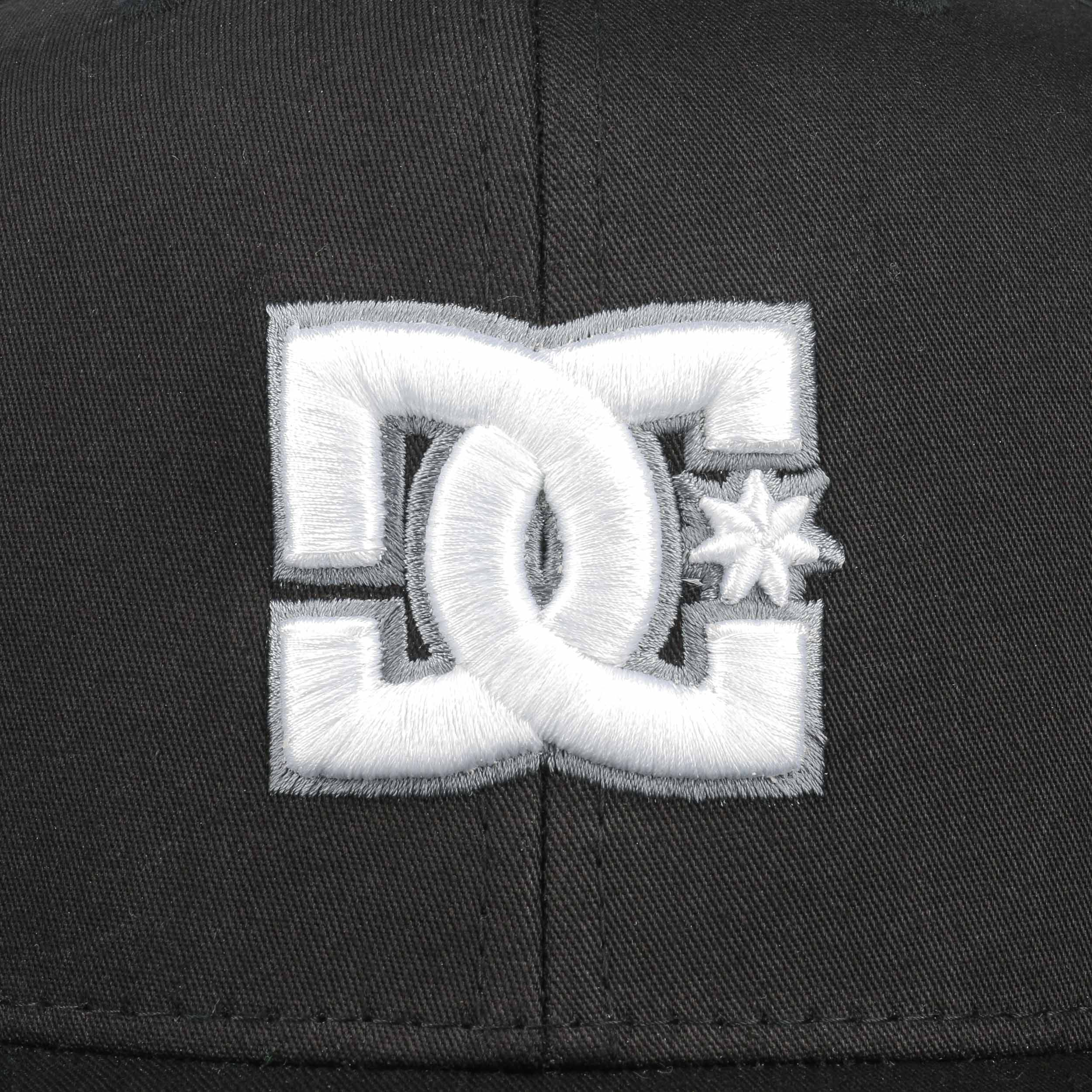 ... Snappy Snapback Cap by DC Shoes Co - black 4 ... 0988de2cb5e