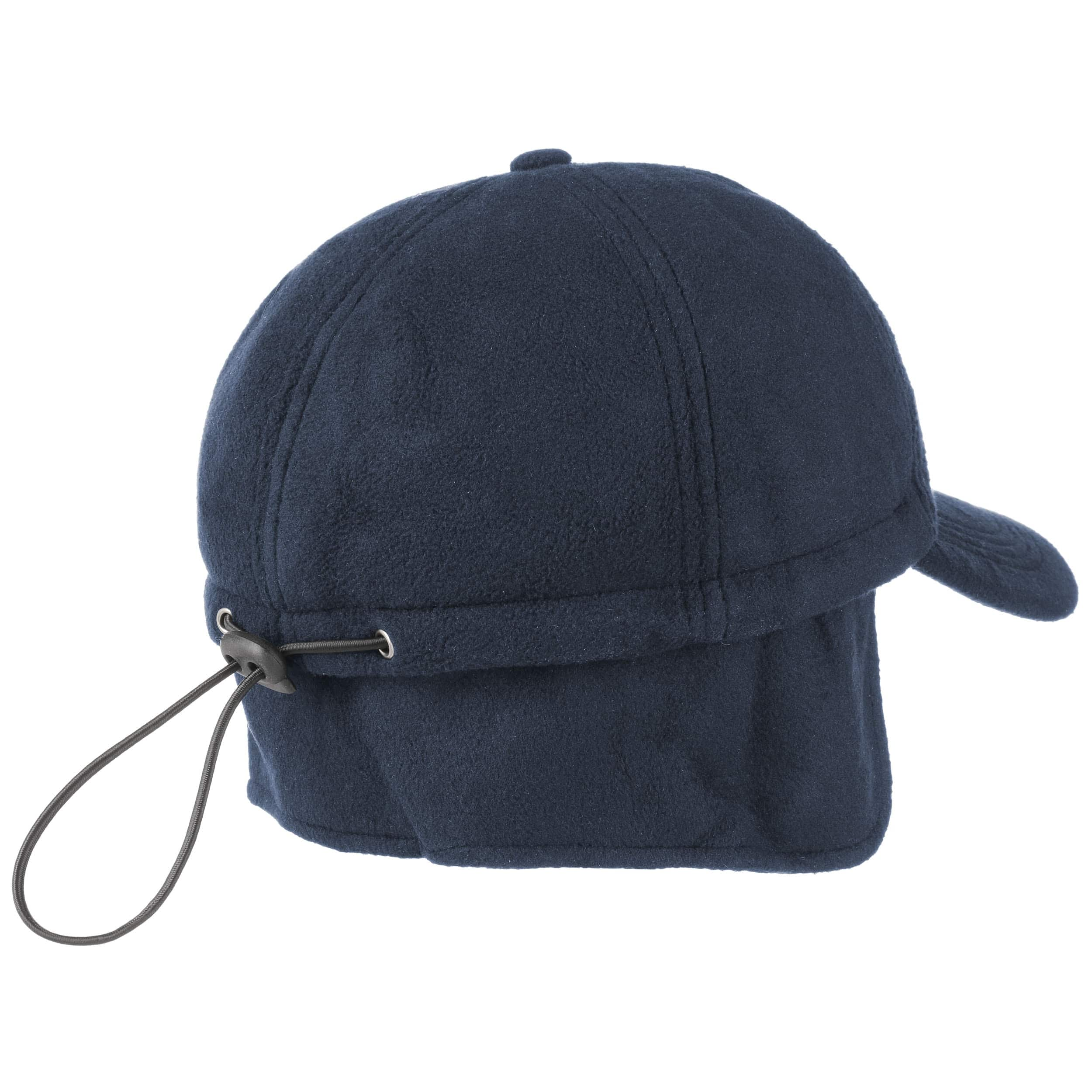 7a2f49b2eef11 ... Snow Fleece Baseball Cap with Earflaps - blue 1 ...