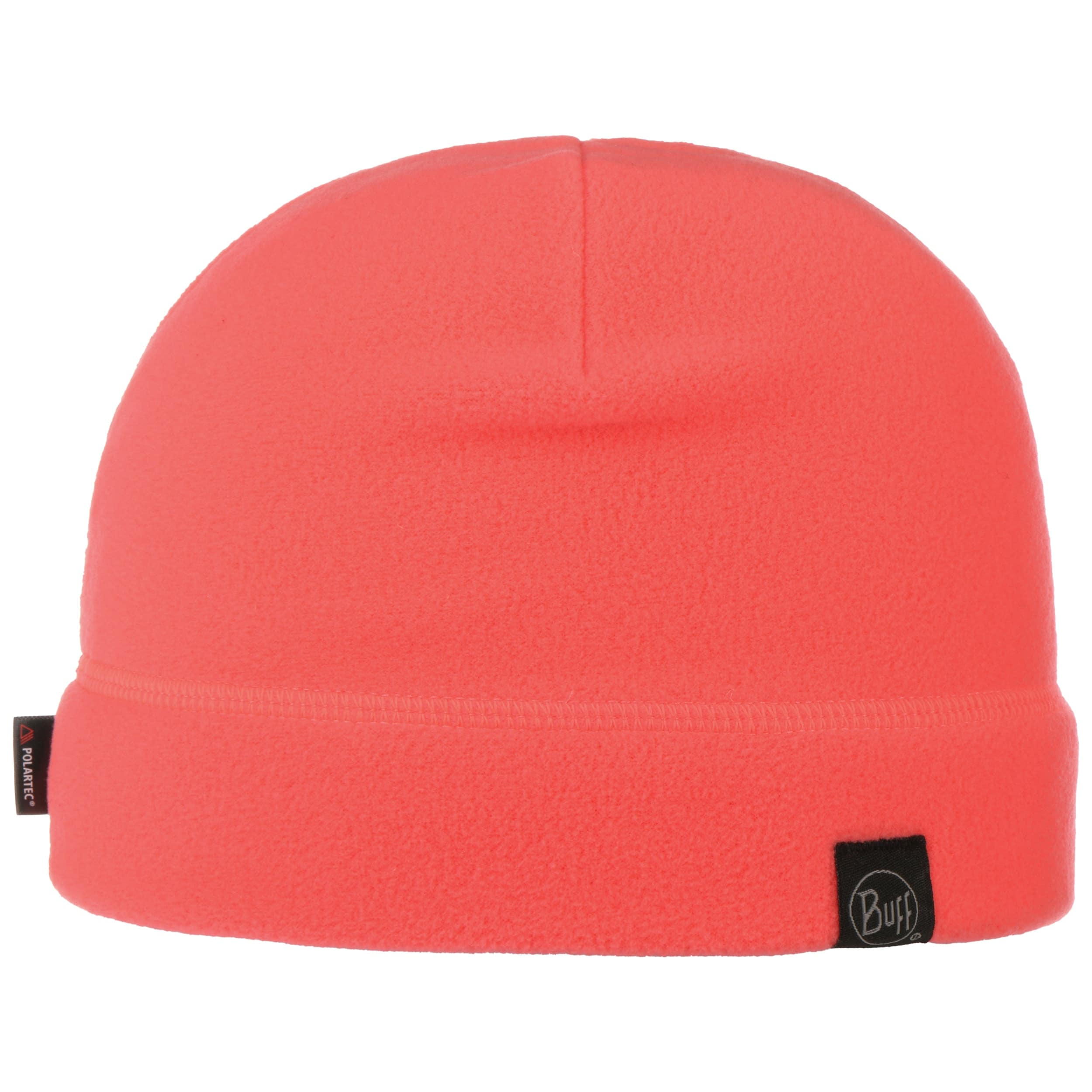 Solid Coral Pink Polar Beanie Hat By BUFF, GBP 15,95