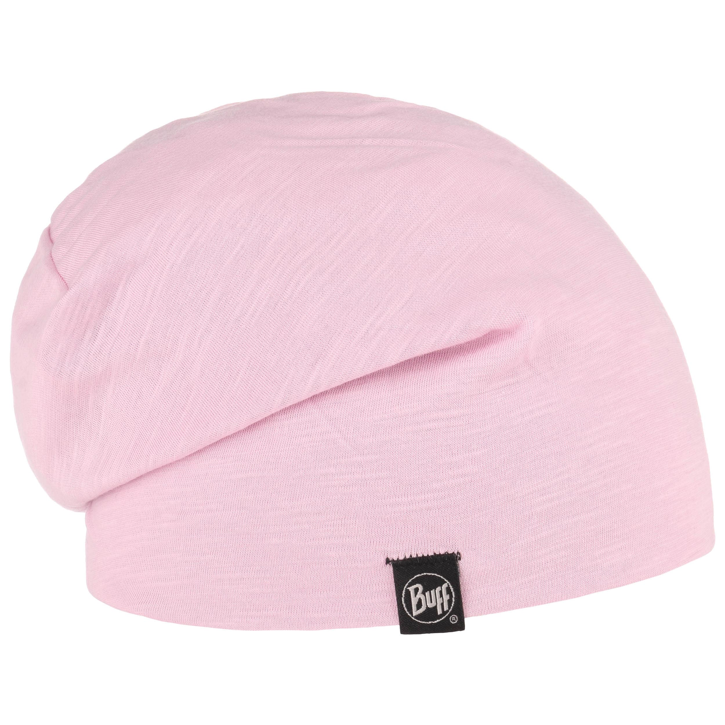 Buff Cotton Hat solid rose