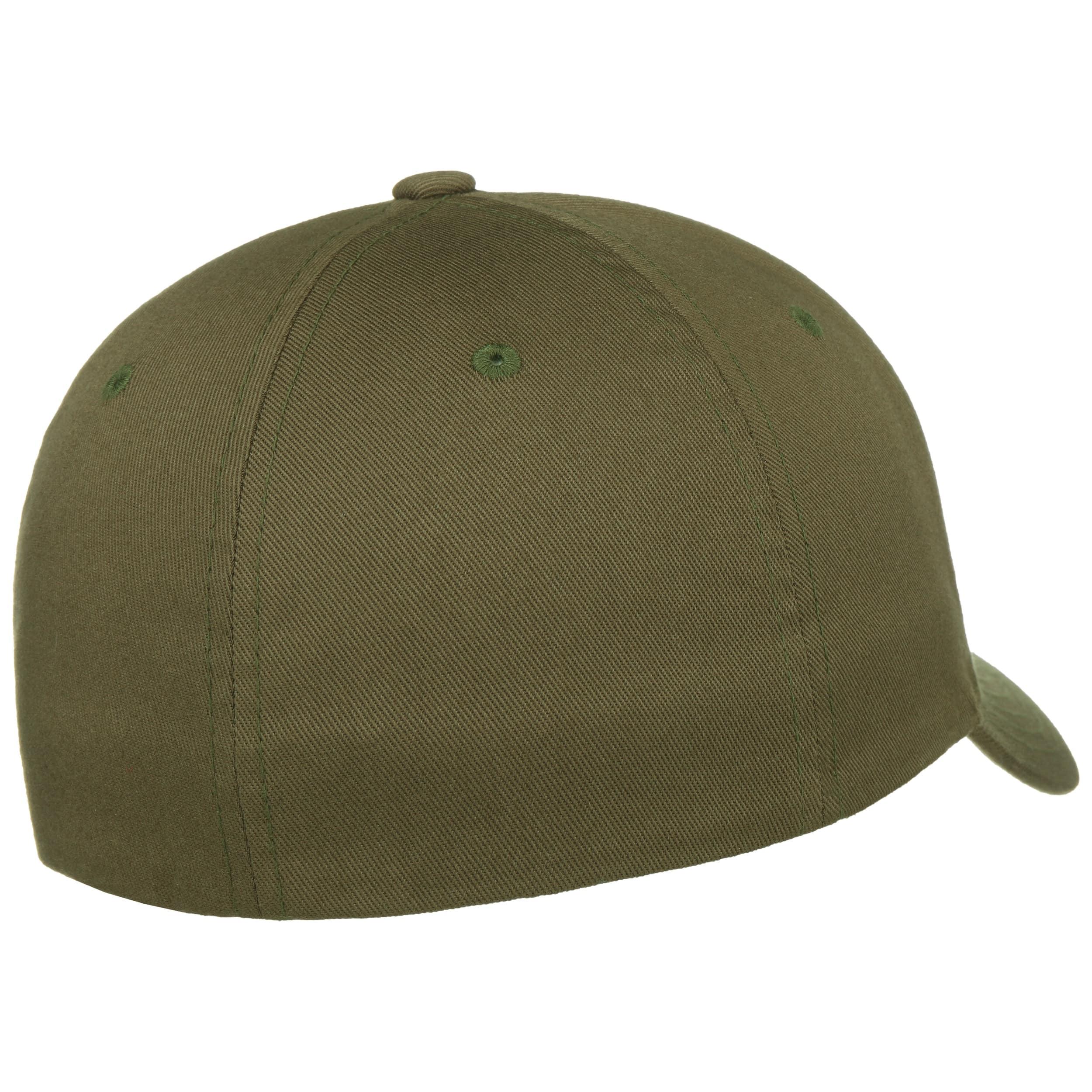 b87168041c ... Spandex Flexfit Cap - olive 1 ...