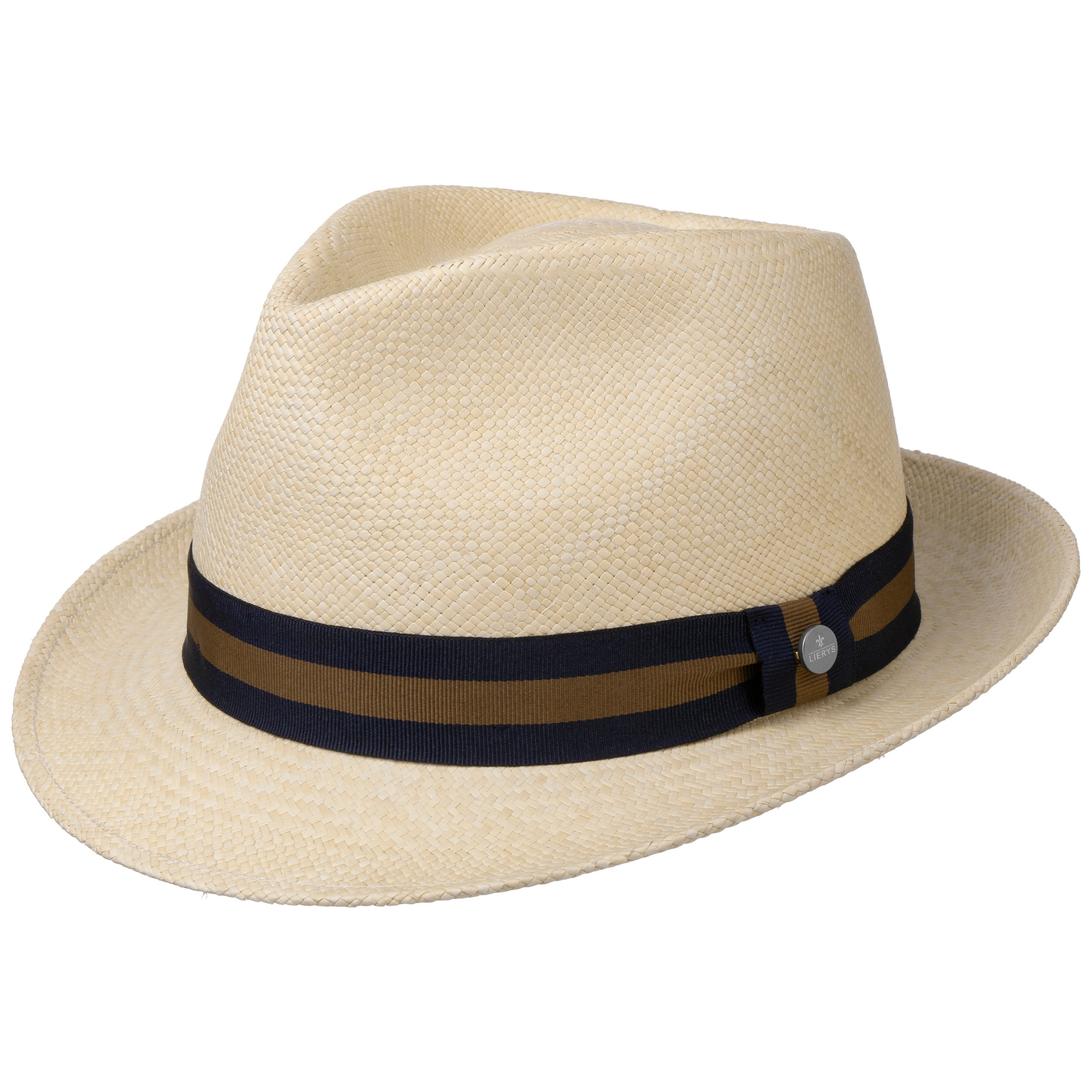 c26157cf532 ... Sportive Trilby Panama Hat by Lierys - nature-navy 4 ...