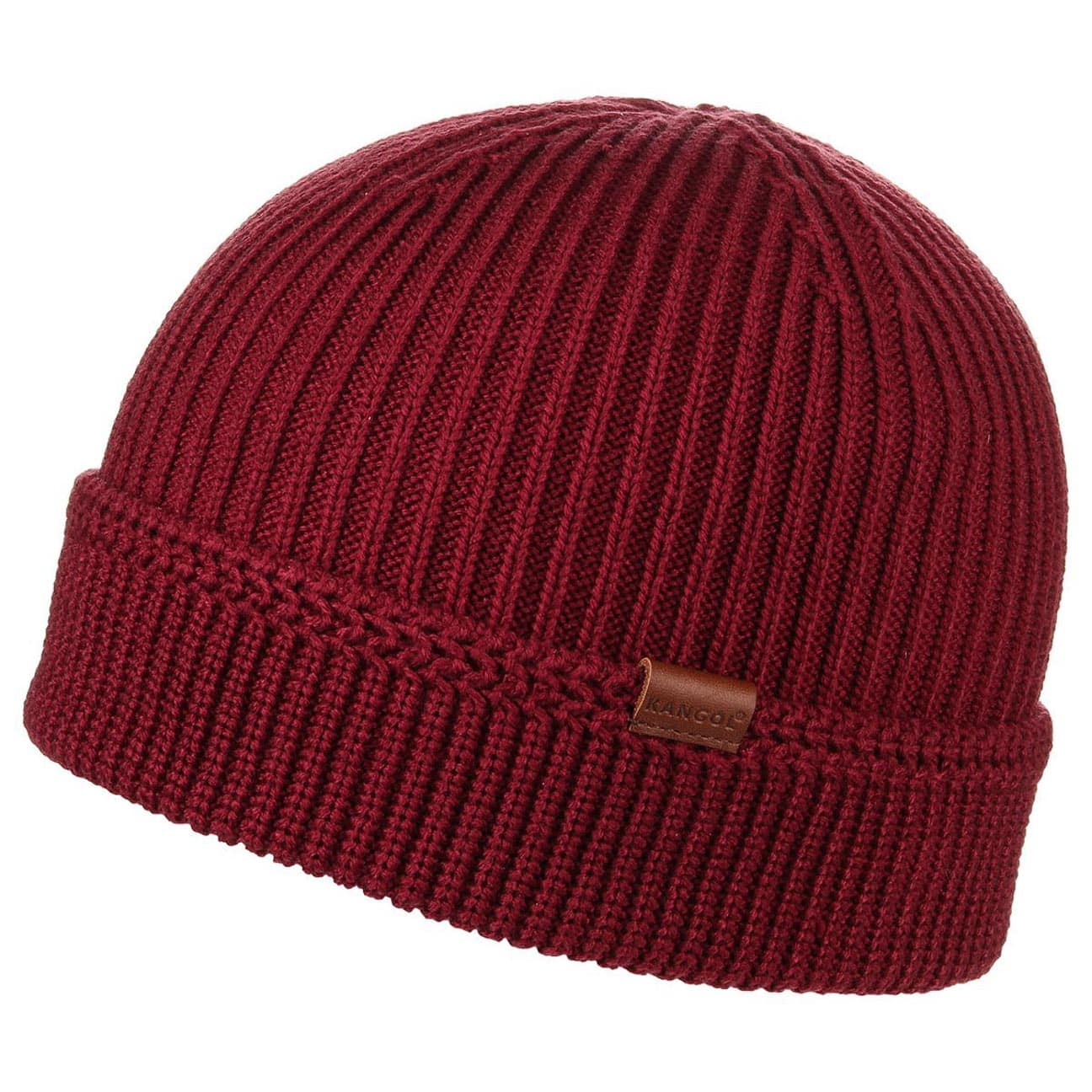 5fb3a2ee91e ... Squad Cuff Pull On by Kangol - bordeaux 1 ...