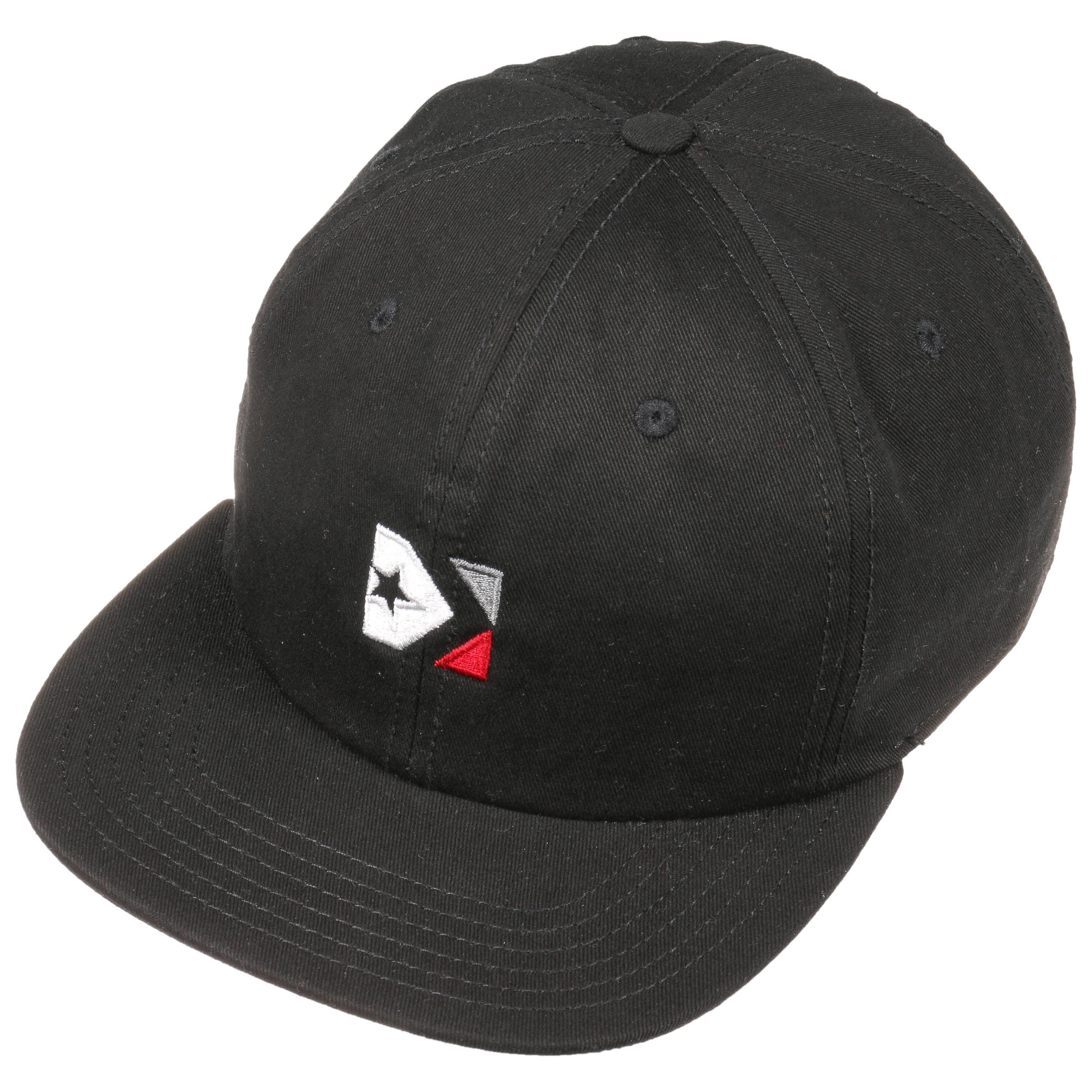 118fea0edc3b28 Star Chevron Box Cap by Converse - black 1 ...