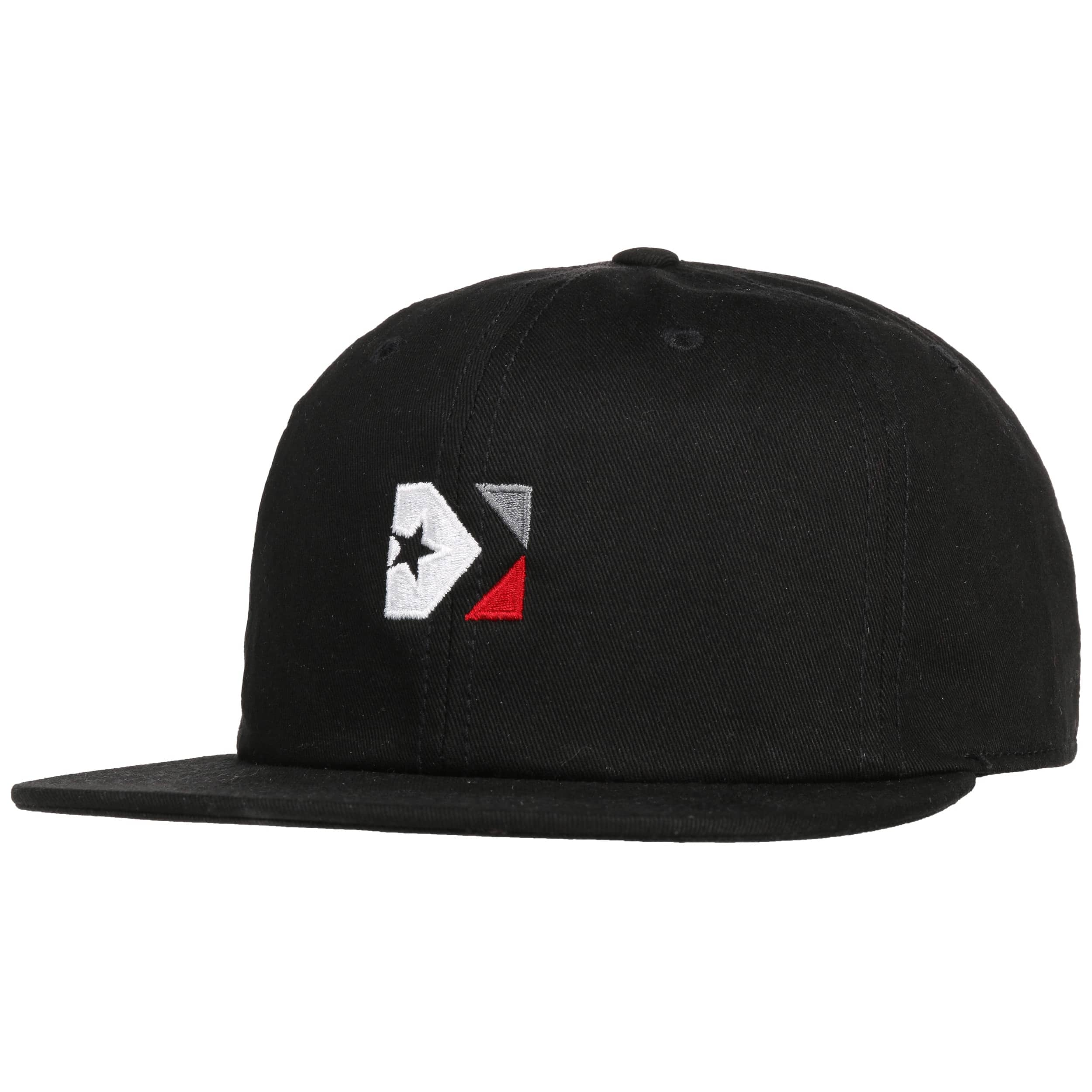 c8cc00f8d27012 ... Star Chevron Box Cap by Converse - black 6 ...
