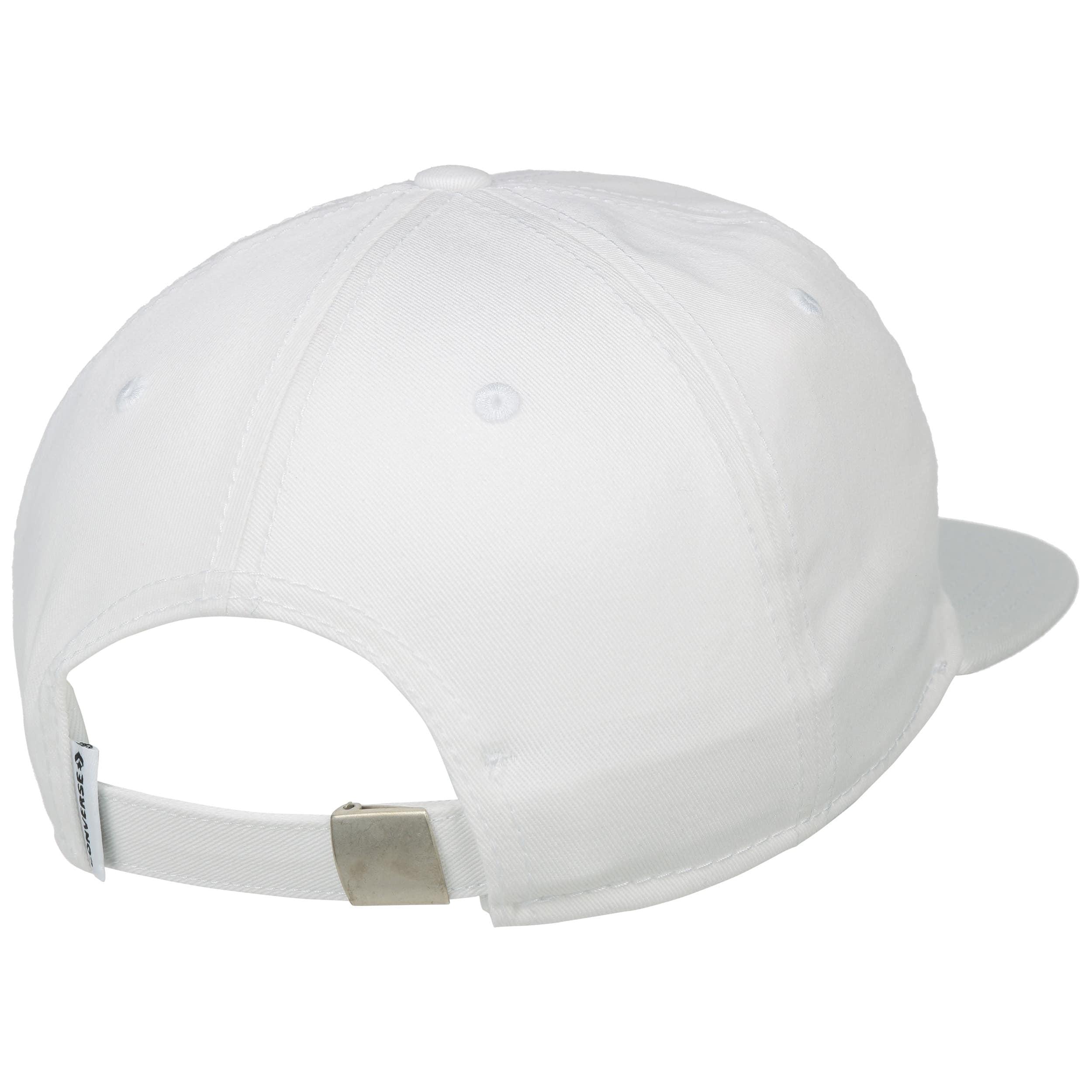 b9c284e8fe8fda ... Star Chevron Box Cap by Converse - white 1 ...