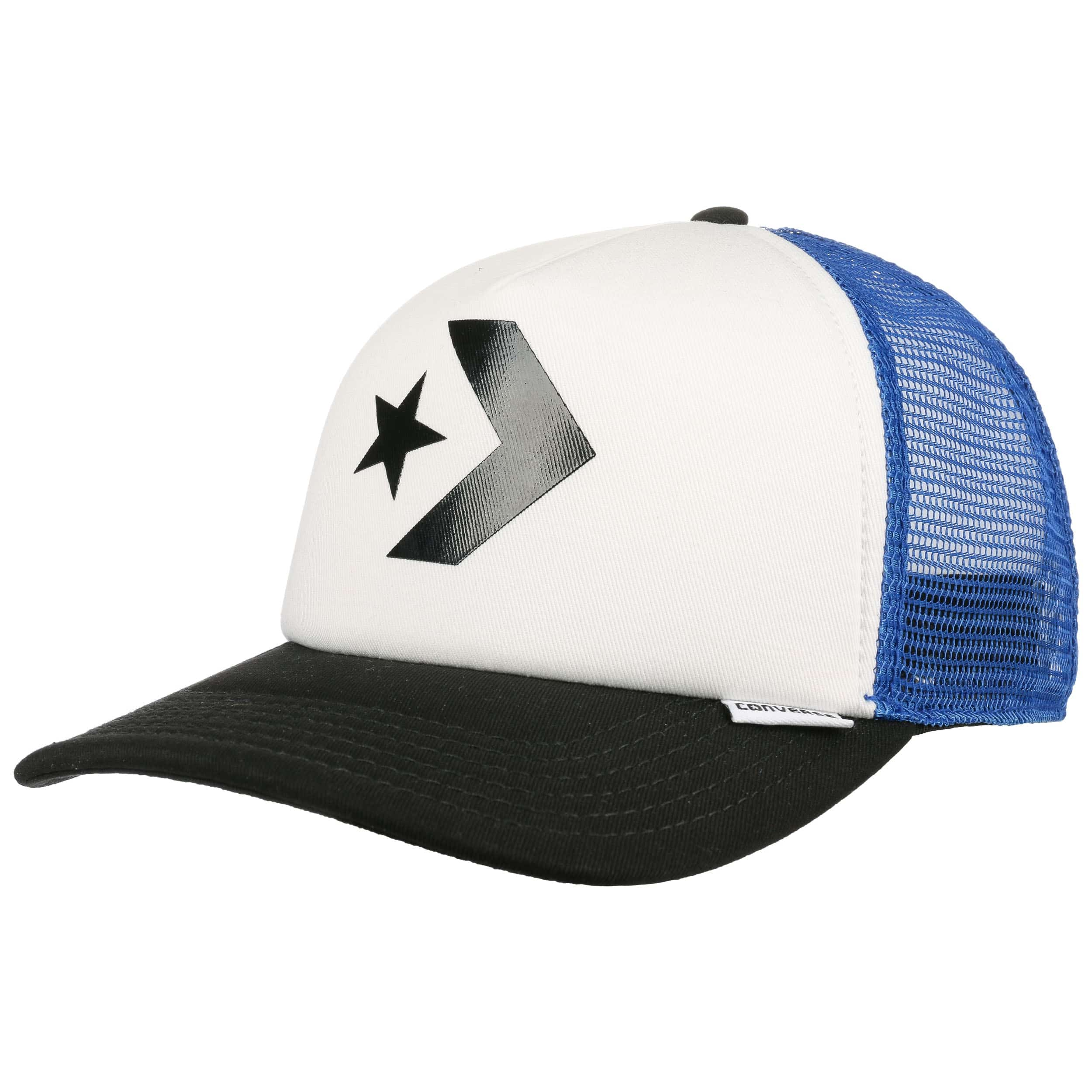 Star Chevron Flat Trucker Cap by Converse