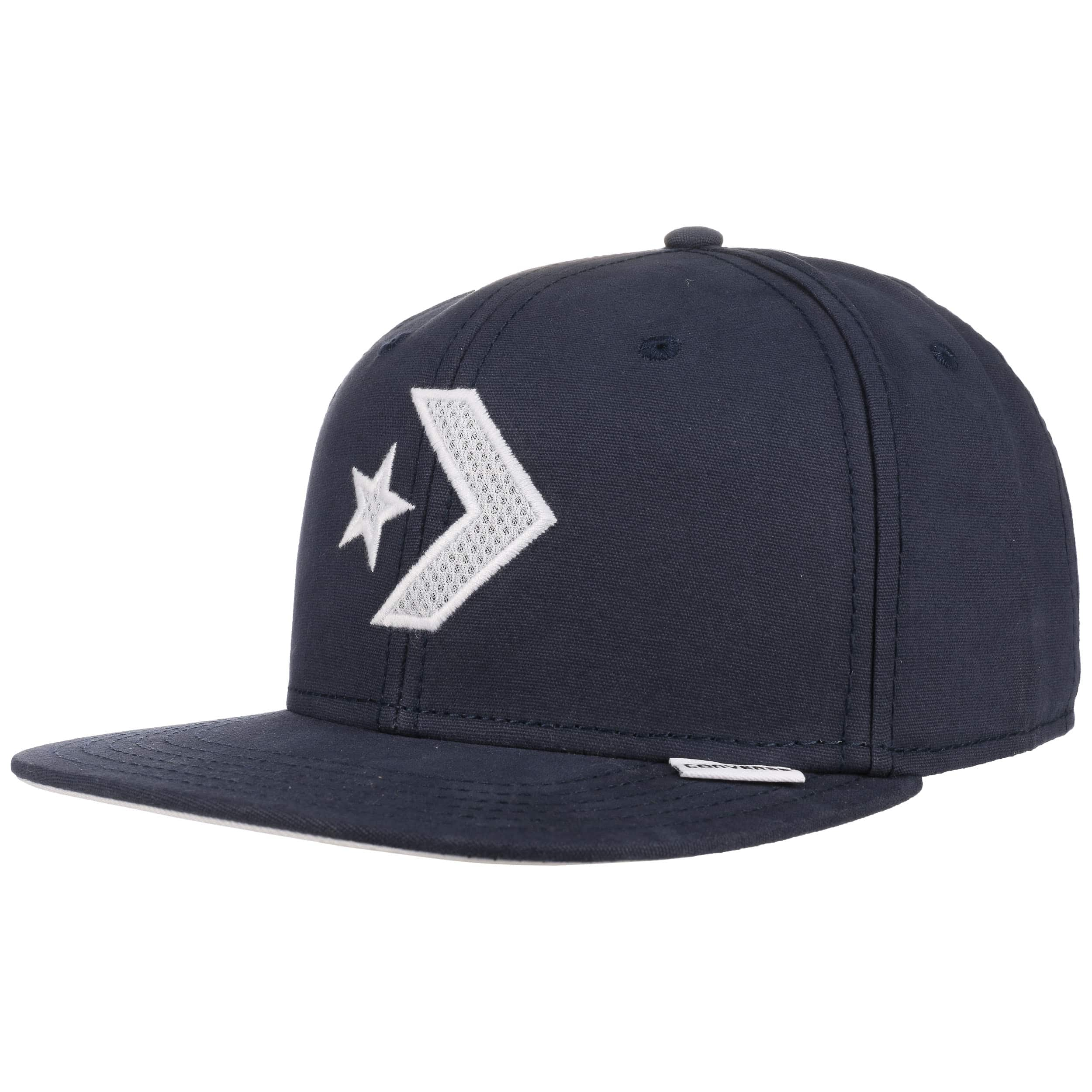 ... Star Chevron Snapback Cap by Converse - navy 5 ... bd1be345b92