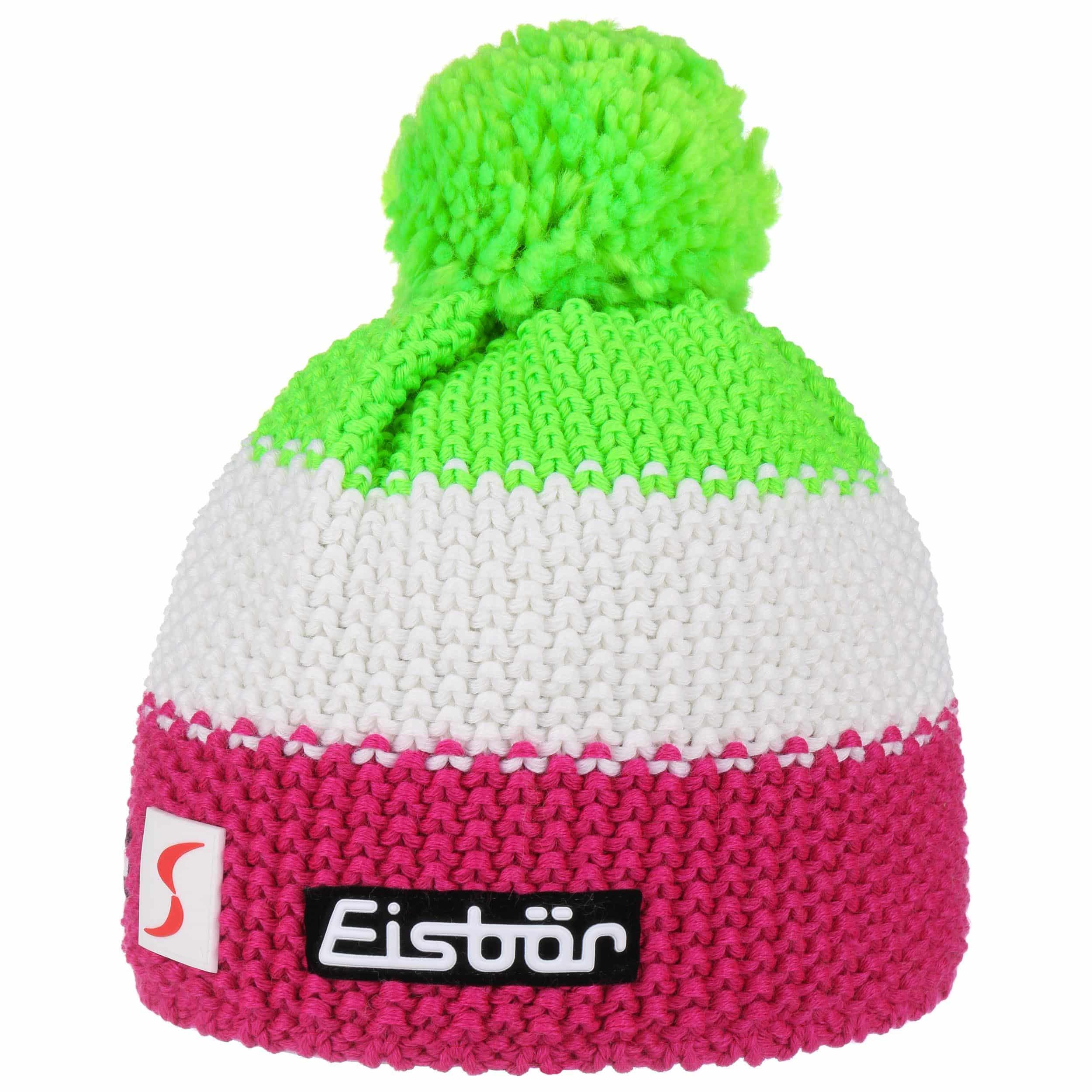... Star Neon Bobble Hat by Eisbär - neon green 3 ... effd4051369f