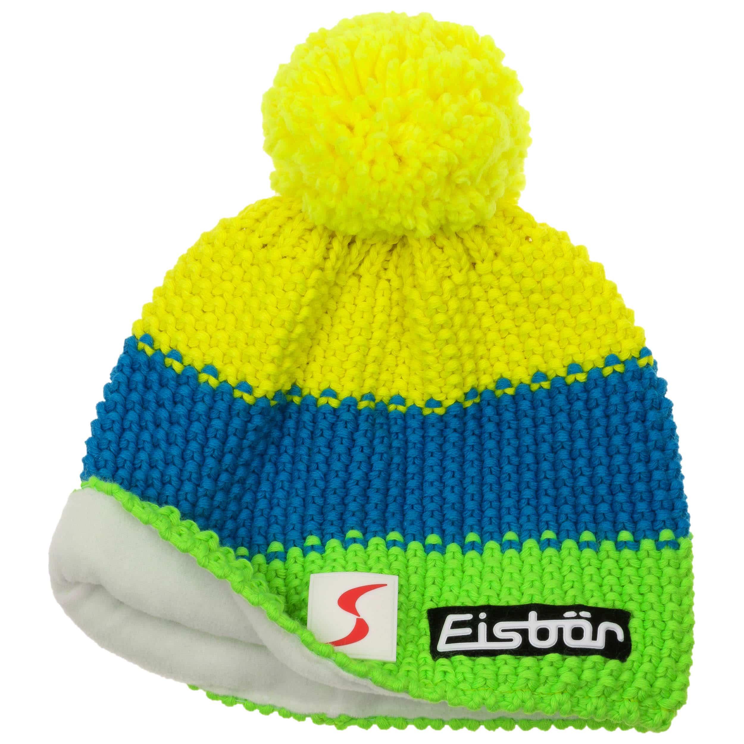 ... Star Neon Bobble Hat by Eisbär - royal-blue 1 ... eb7929686eaa