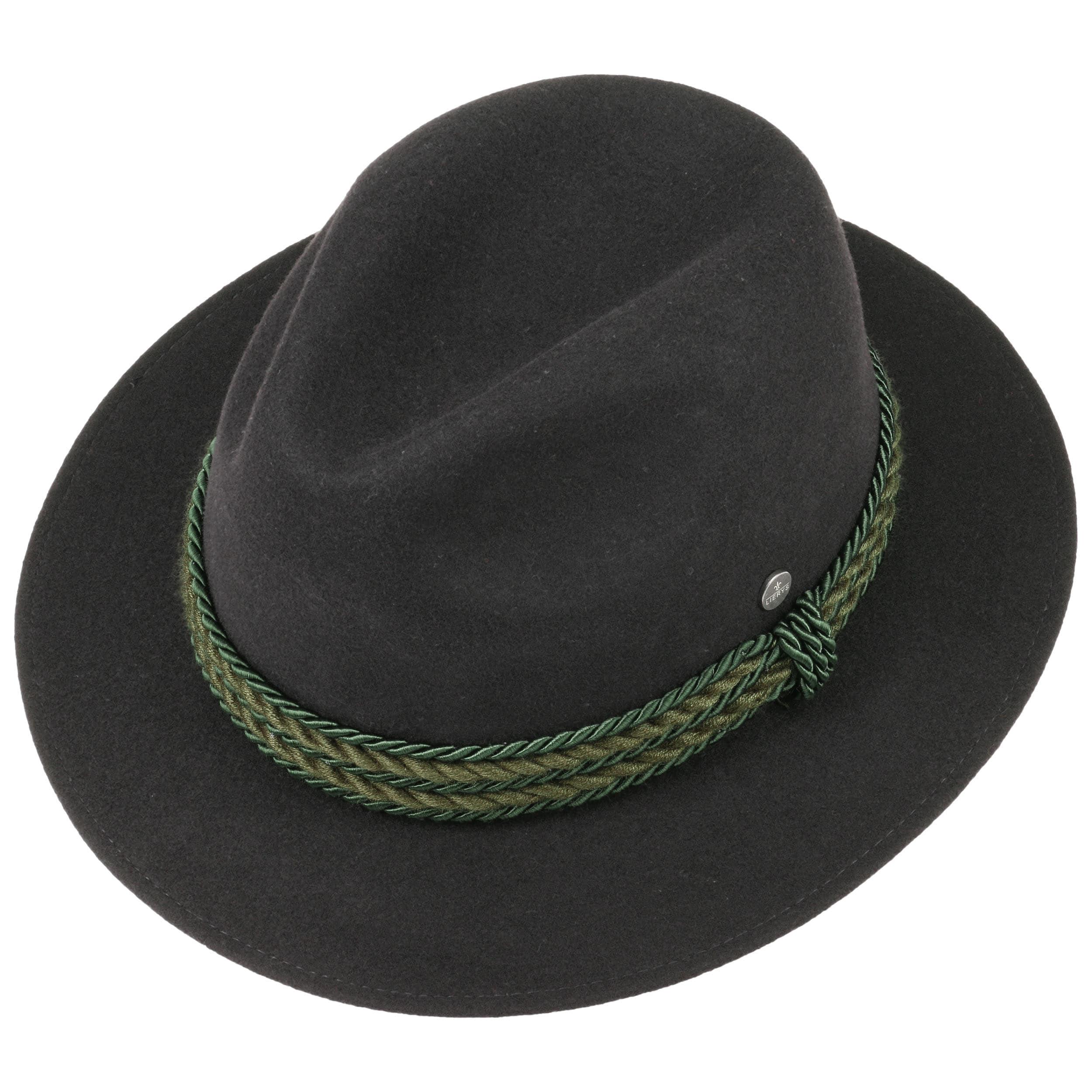 e31aa140950 Steiermark Traditional Hat by Lierys - black 1 ...